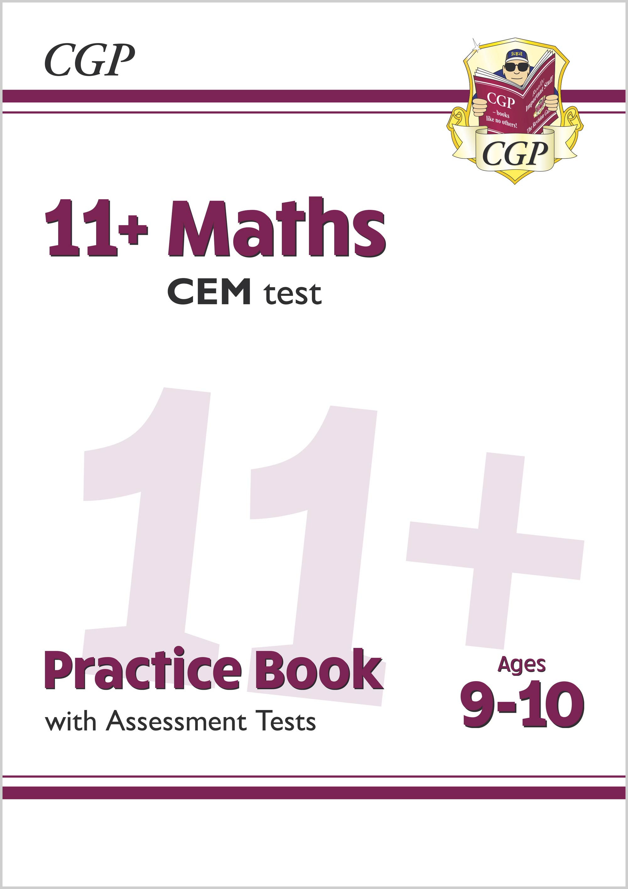M5QDE2DK - New 11+ CEM Maths Practice Book & Assessment Tests - Ages 9-10 (with Online Edition)