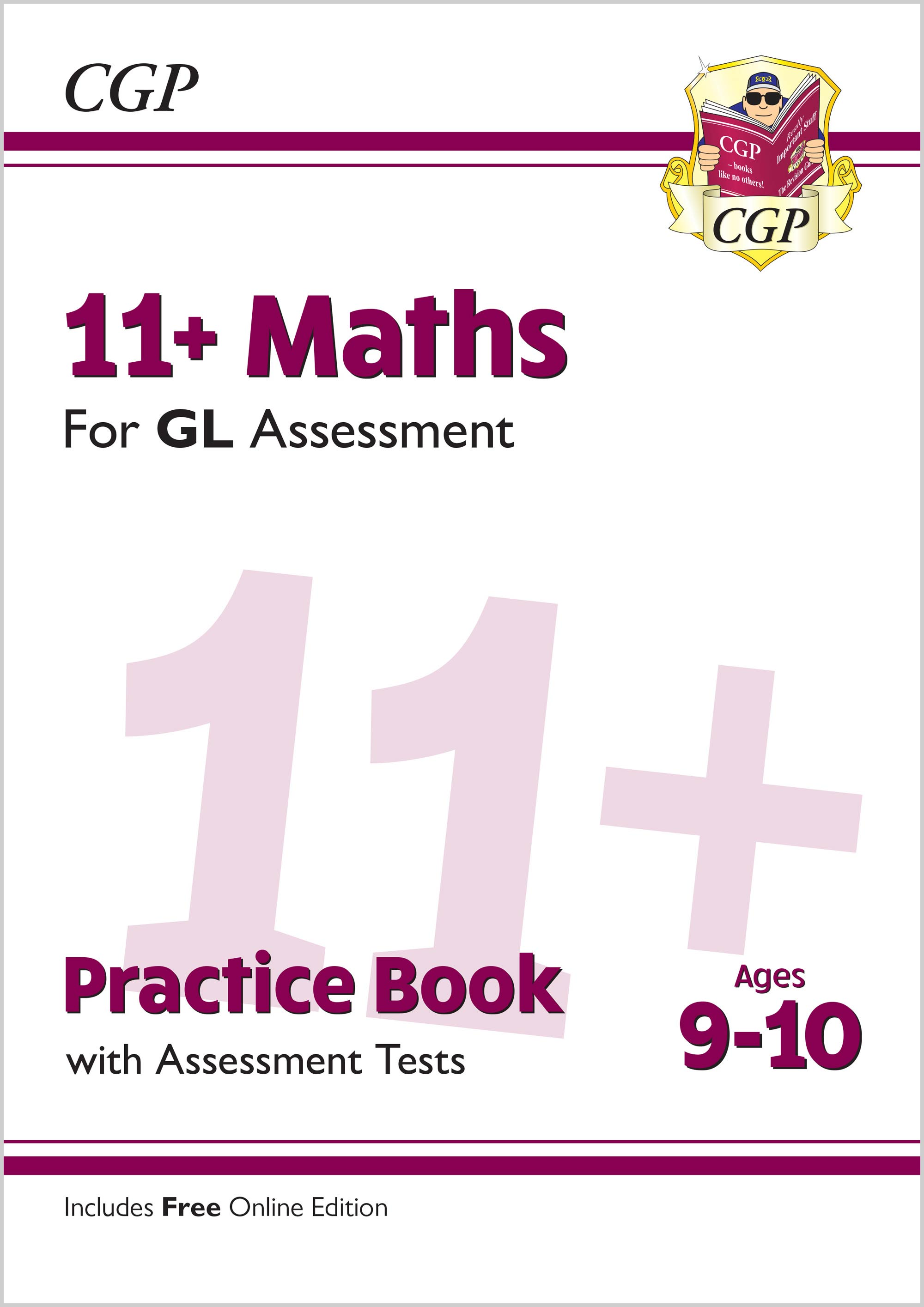 M5QE2 - New 11+ GL Maths Practice Book & Assessment Tests - Ages 9-10 (with Online Edition)