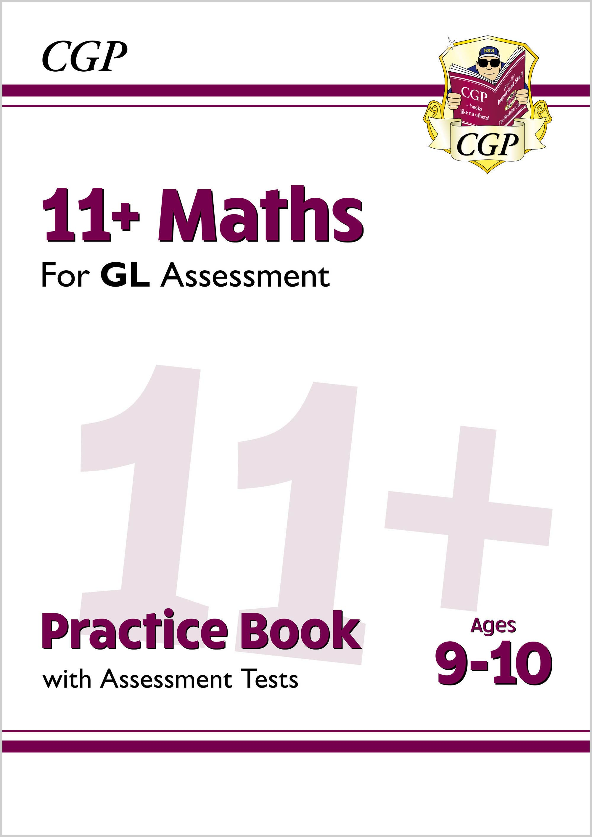 M5QE2DK - New 11+ GL Maths Practice Book & Assessment Tests - Ages 9-10