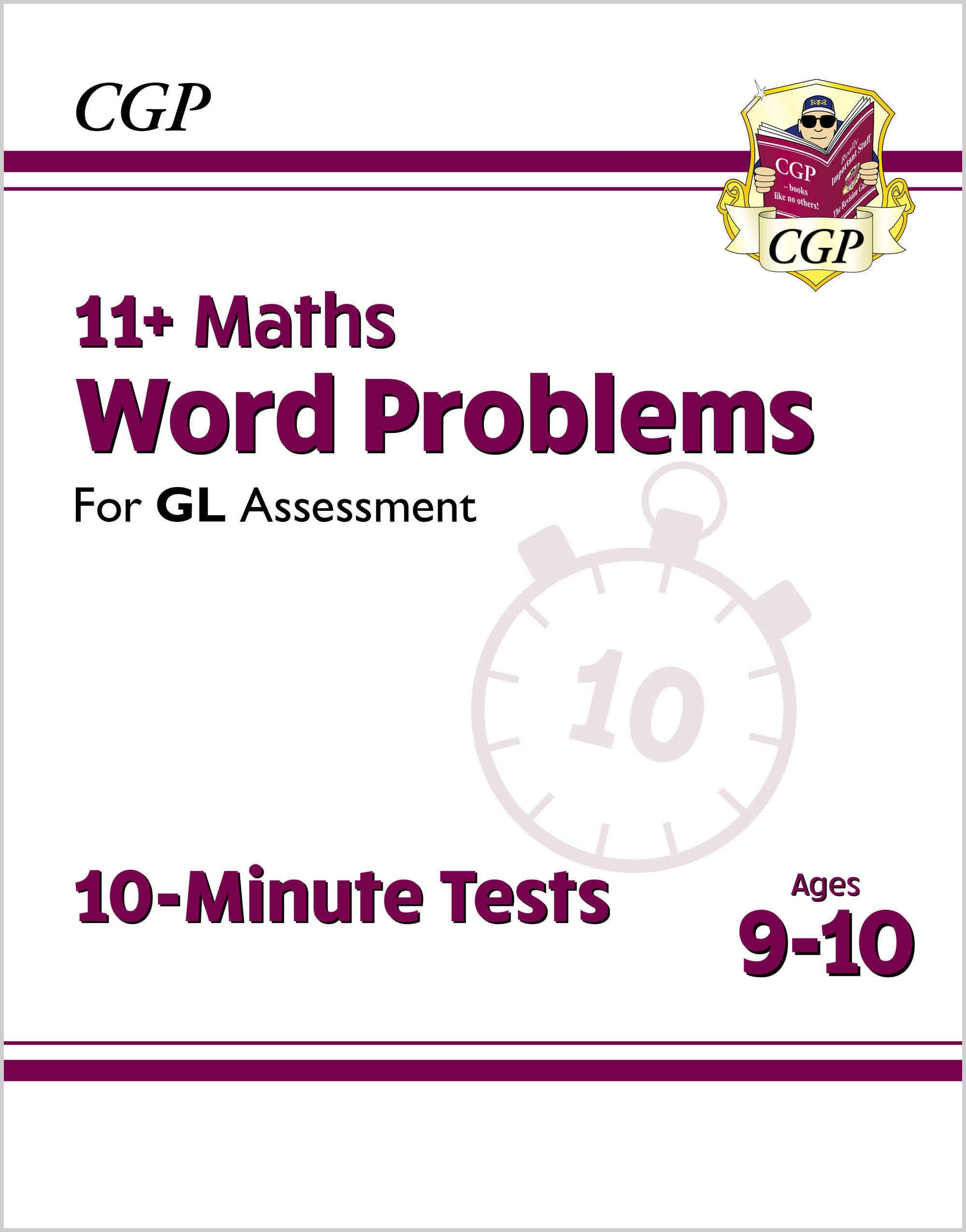 M5WXPE1DK - 11+ GL 10-Minute Tests: Maths Word Problems - Ages 9-10