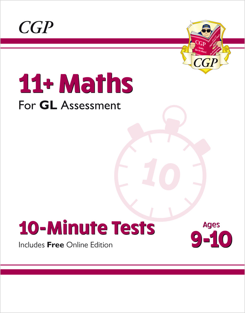M5XPE1 - tbc - 10-Minute Tests for 11+ Maths Ages 9-10 - GL
