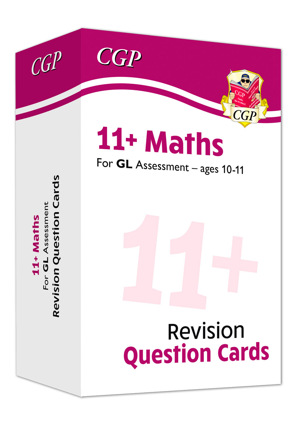 M6FE1 - New 11+ GL Maths Practice Question Cards - Ages 10-11