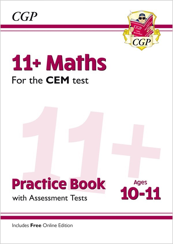 M6QDE2 - New 11+ CEM Maths Practice Book & Assessment Tests - Ages 10-11  (with Online Edition)