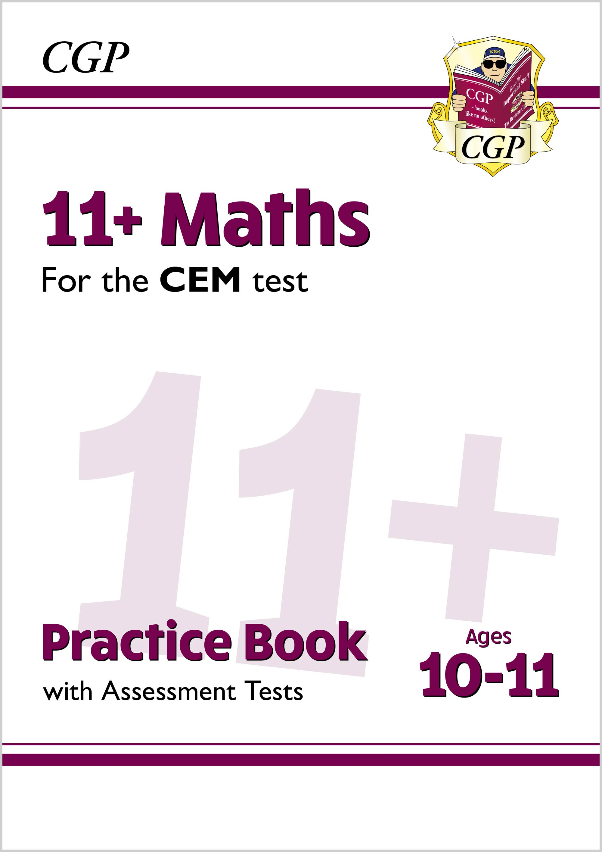 M6QDE2DK - New 11+ CEM Maths Practice Book & Assessment Tests - Ages 10-11 (with Online Edition)