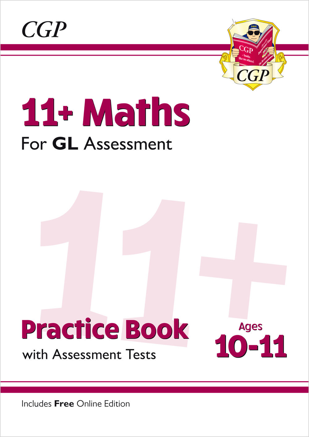 M6QE2 - New 11+ GL Maths Practice Book & Assessment Tests - Ages 10-11 (with Online Edition)