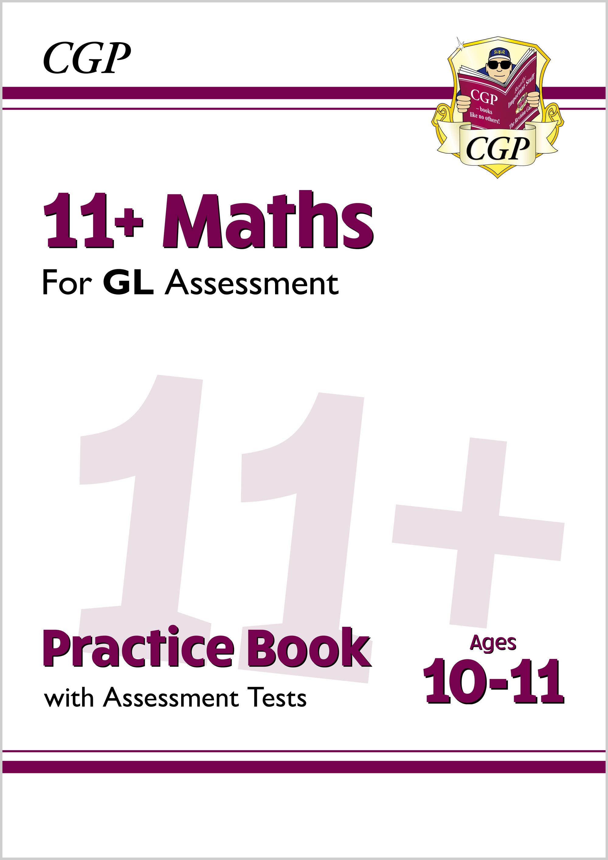 M6QE2DK - New 11+ GL Maths Practice Book & Assessment Tests - Ages 10-11 (with Online Edition)