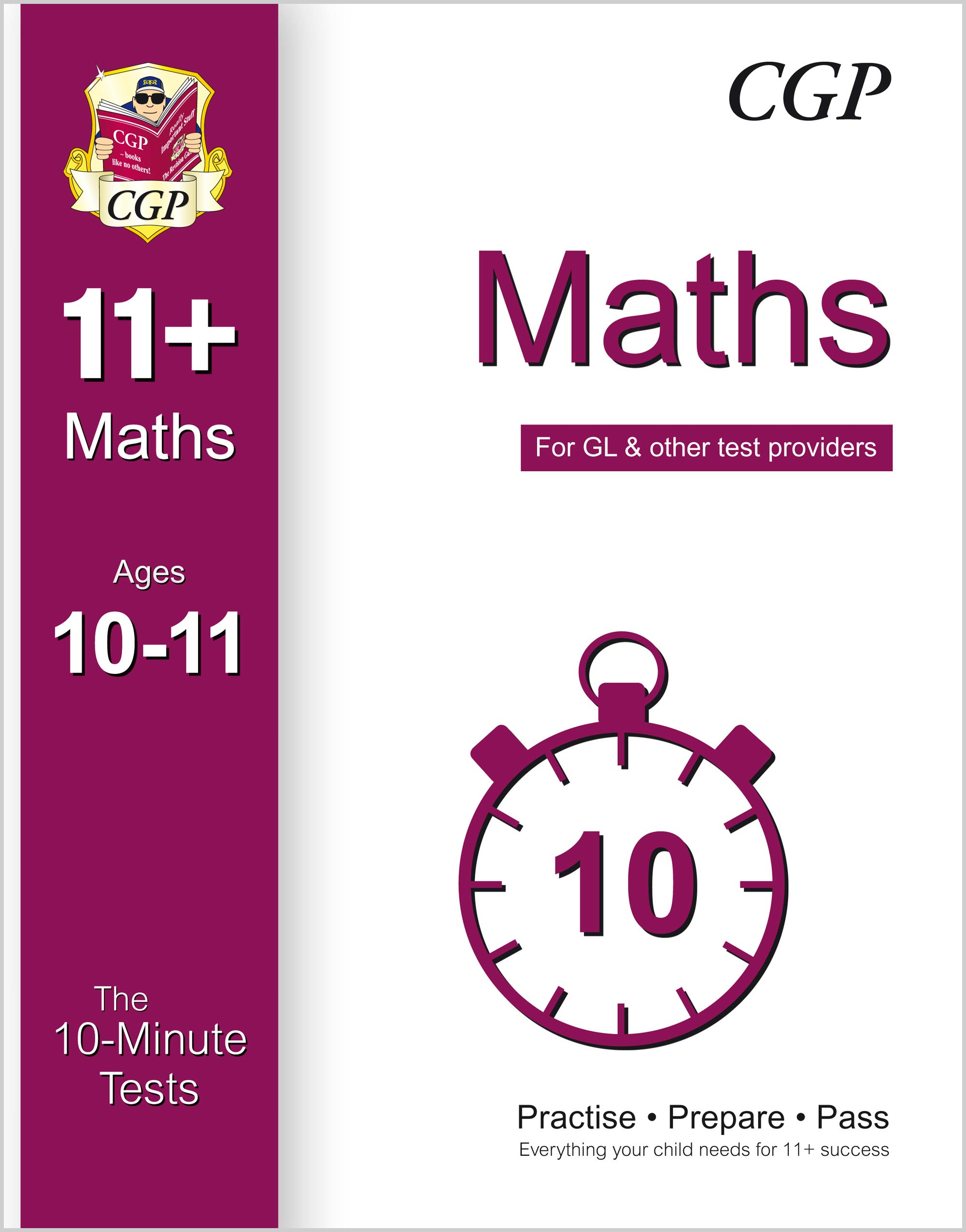 M6XPE1 - 10-Minute Tests for 11+ Maths Ages 10-11 (for GL & Other Test Providers)