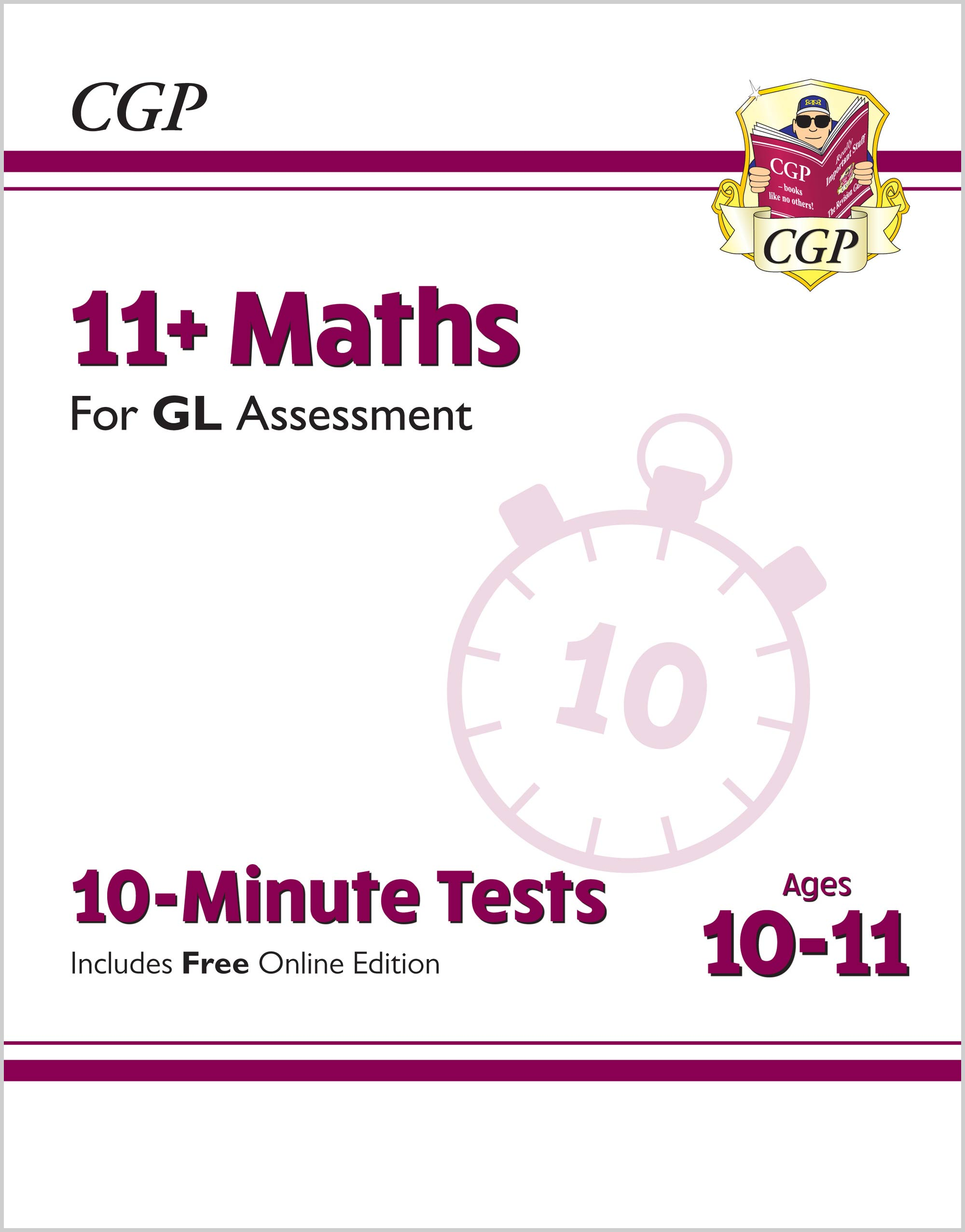 M6XPE2 - New 11+ GL 10-Minute Tests: Maths - Ages 10-11 (with Online Edition)