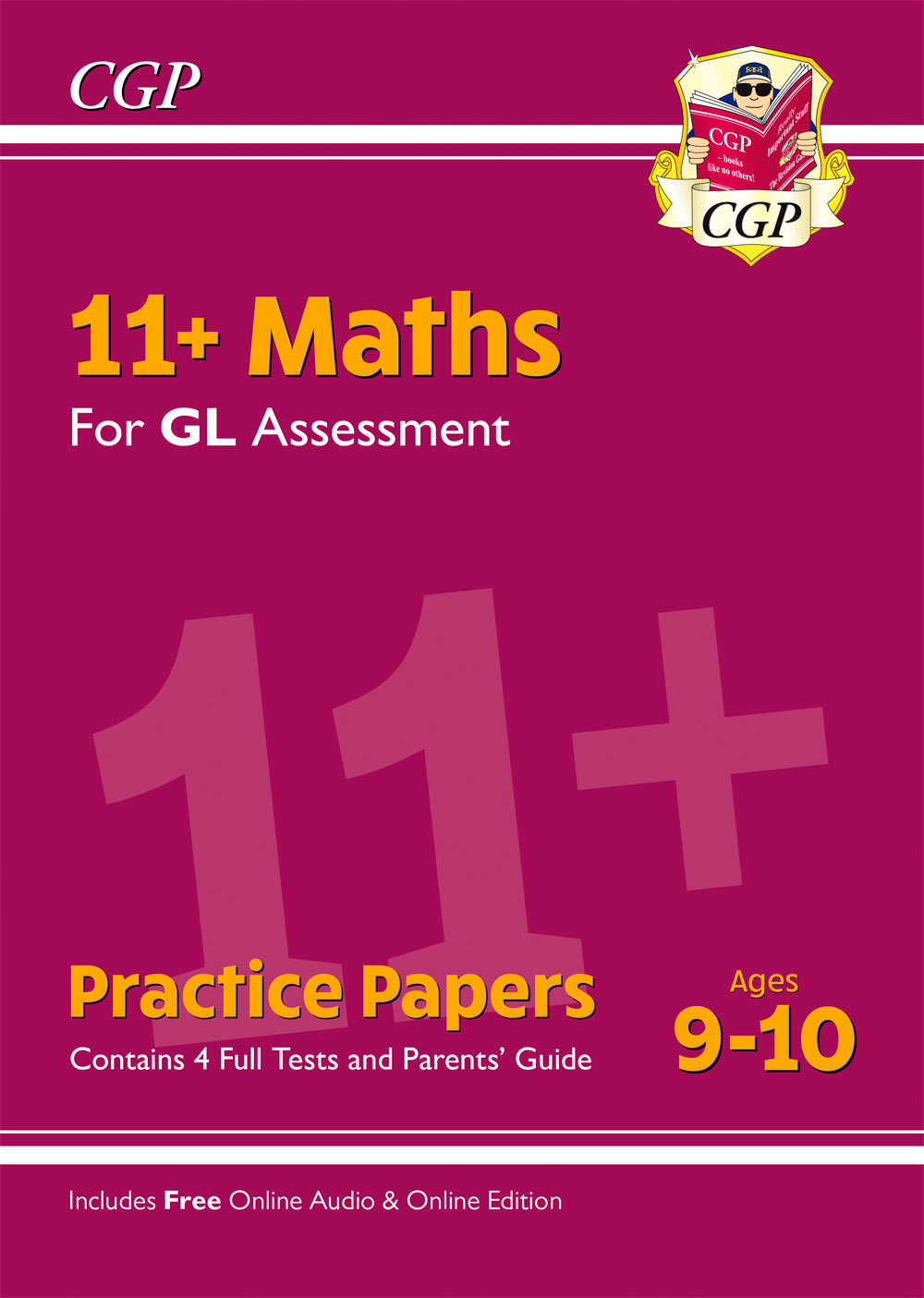 MH5PE1 - 11+ GL Maths Practice Papers - Ages 9-10 (with Parents' Guide & Online Edition)