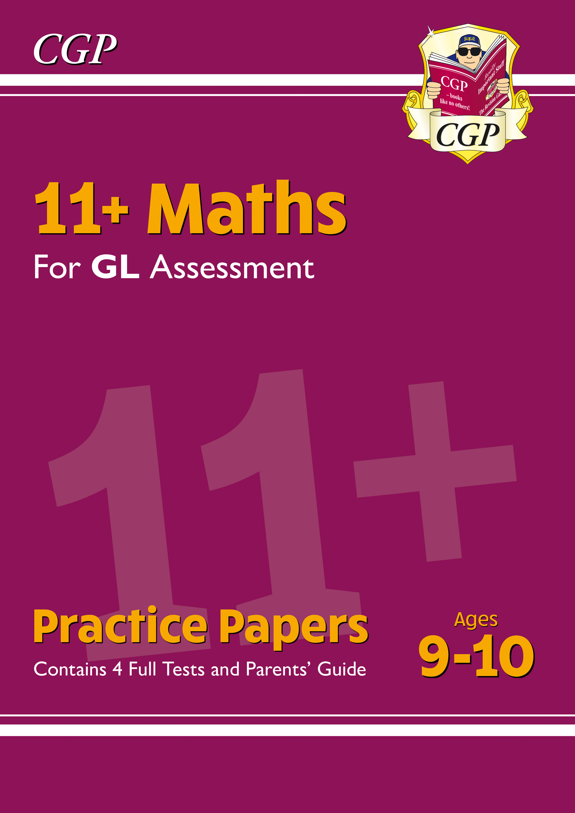 MH5PE1DK - New 11+ GL Maths Practice Papers - Ages 9-10 (with Parents' Guide)