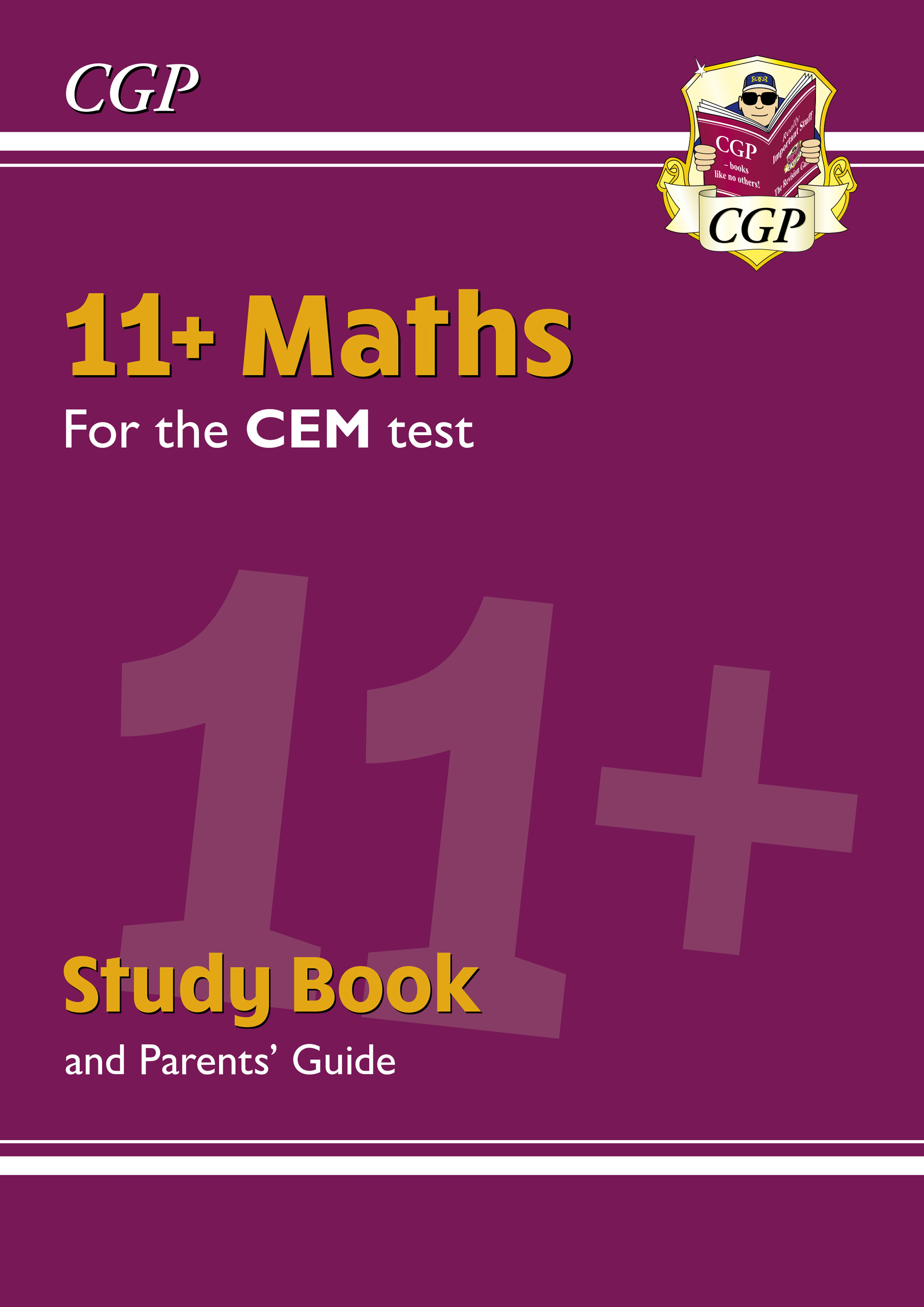 MHRDE2DK - New 11+ CEM Maths Study Book (with Parents' Guide & Online Edition)