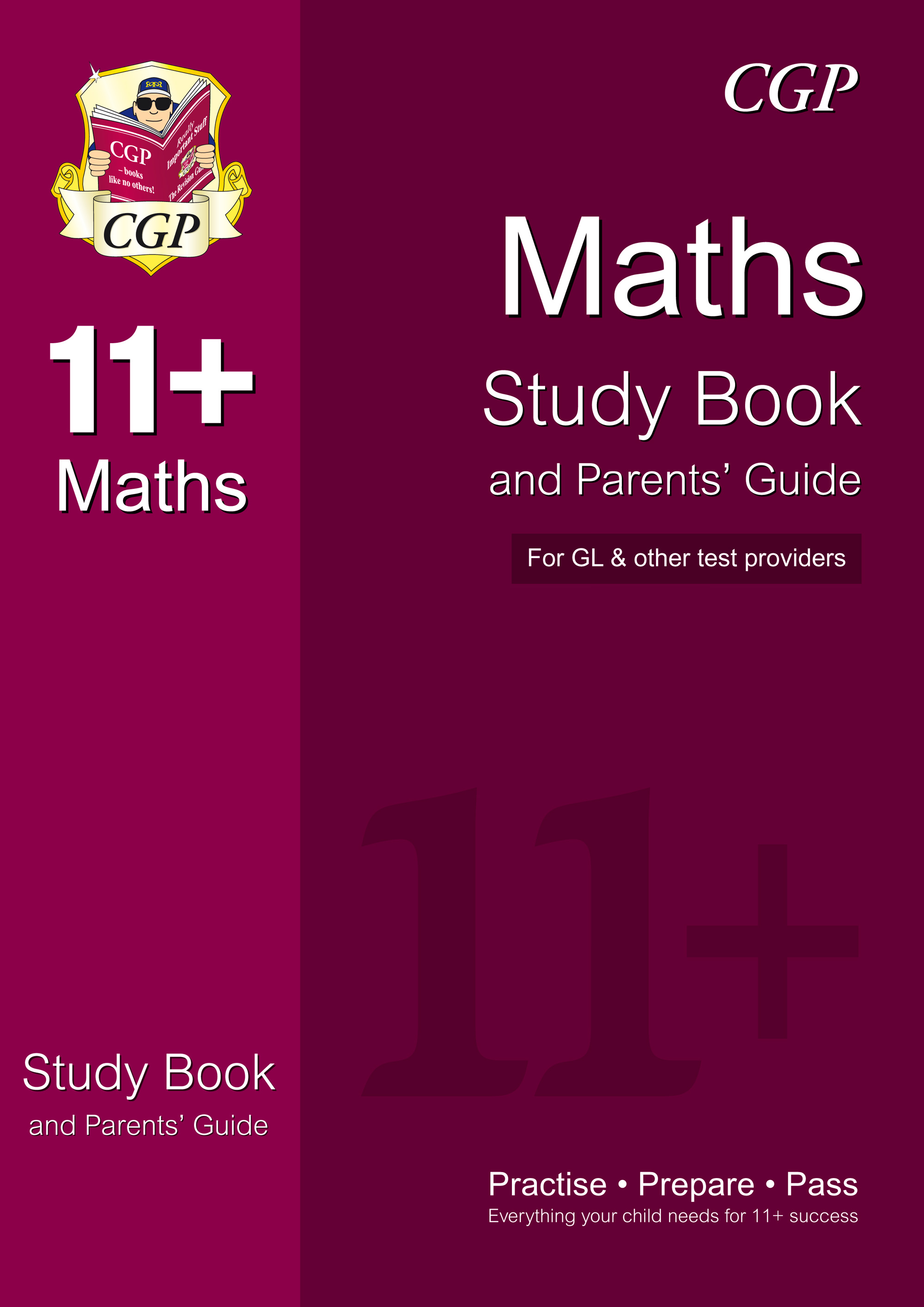 MHRE1 - 11+ Maths Study Book and Parents' Guide (for GL & Other Test Providers)
