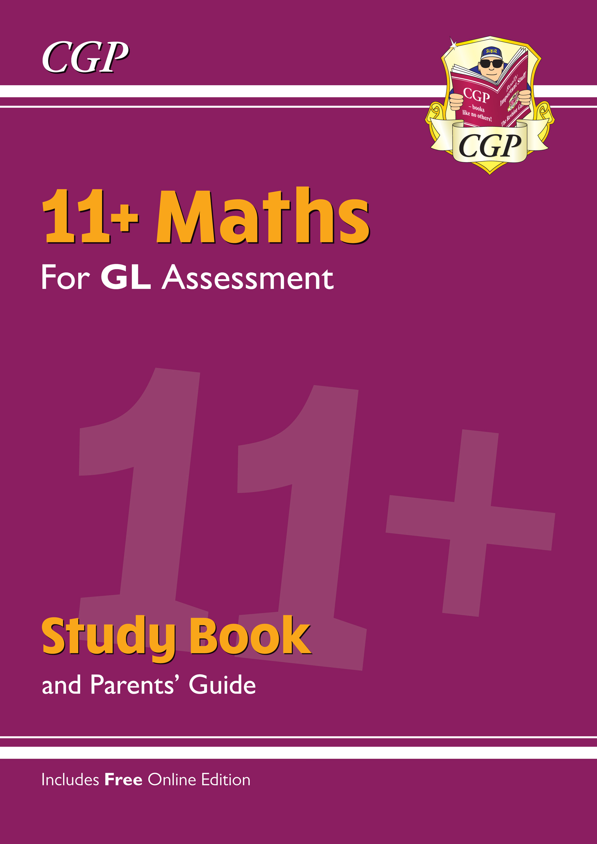 MHRE2 - 11+ GL Maths Study Book (with Parents' Guide & Online Edition)