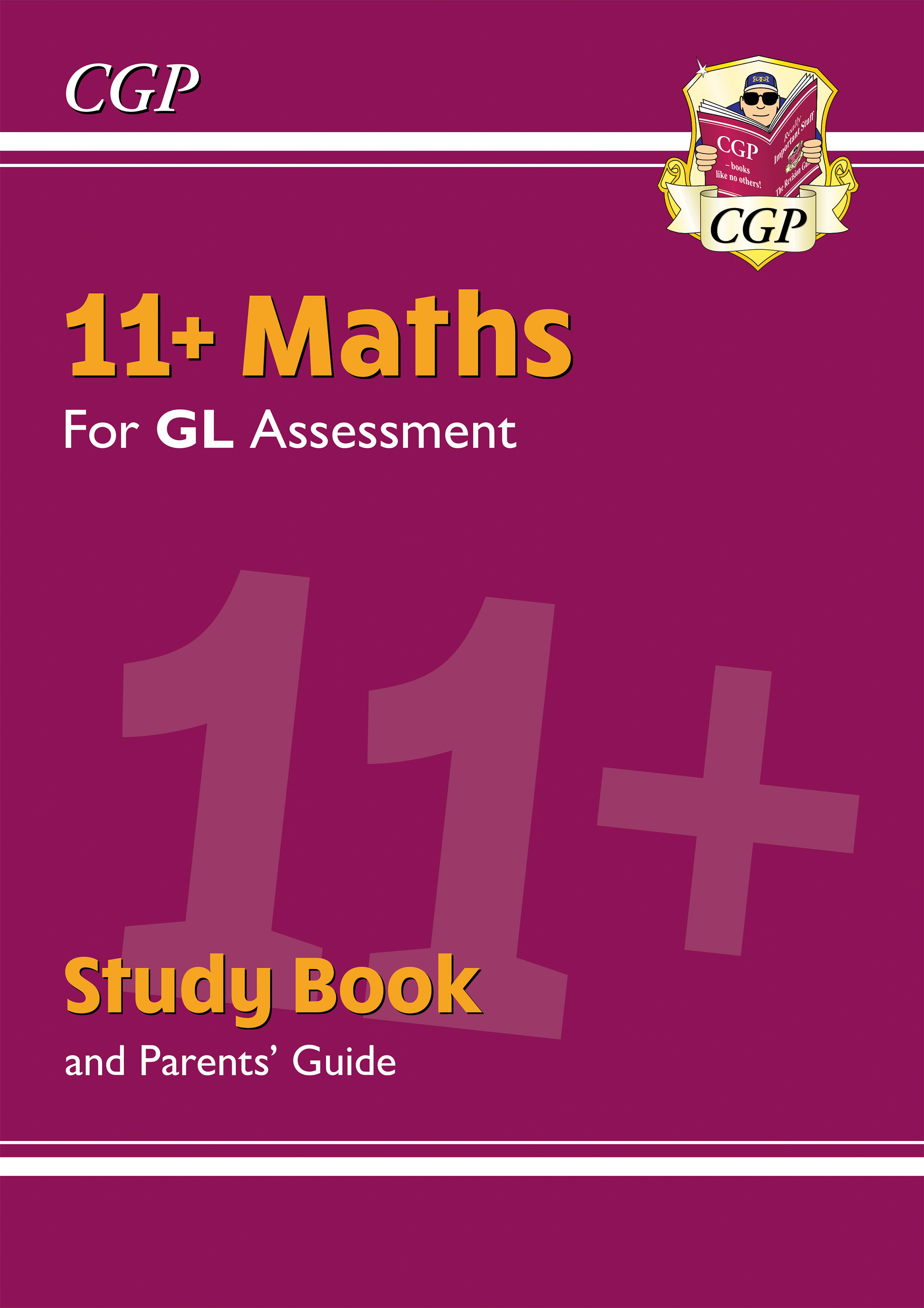 MHRE2DK - New 11+ GL Maths Study Book (with Parents' Guide & Online Edition)