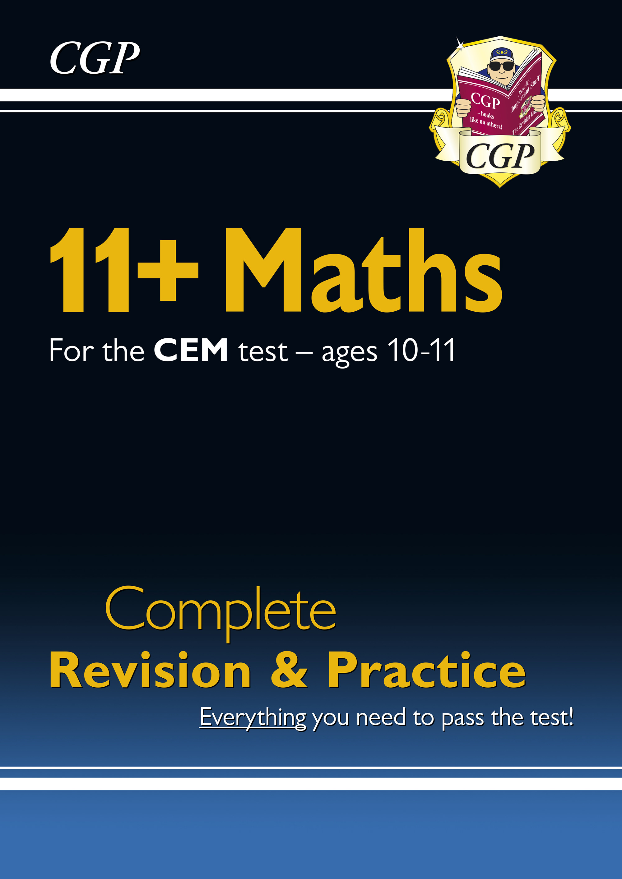 MHSDE1DK - New 11+ CEM Maths Complete Revision and Practice - Ages 10-11 Online Edition