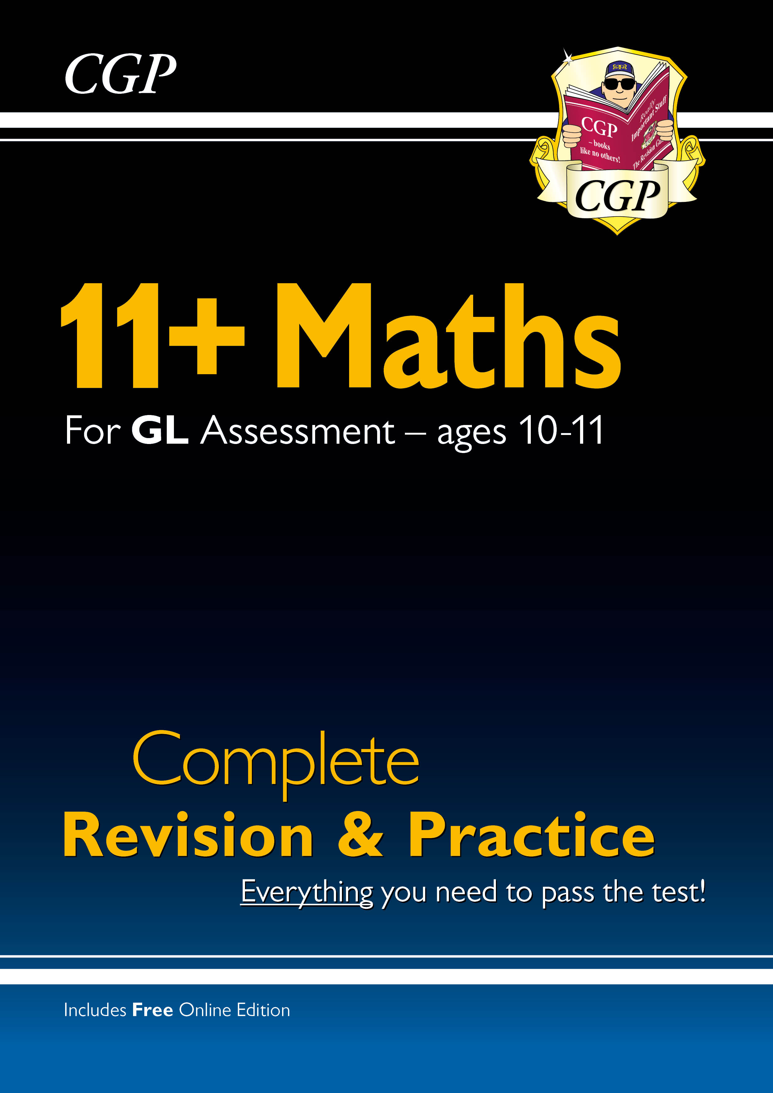 MHSE1 - New 11+ GL Maths Complete Revision and Practice - Ages 10-11 (with Online Edition)
