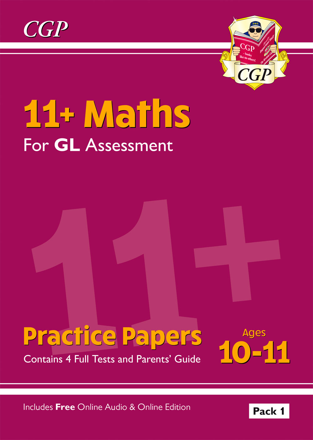 MHTE2 - New 11+ GL Maths Practice Papers: Ages 10-11 - Pack 1 (with Parents' Guide & Online Edition)
