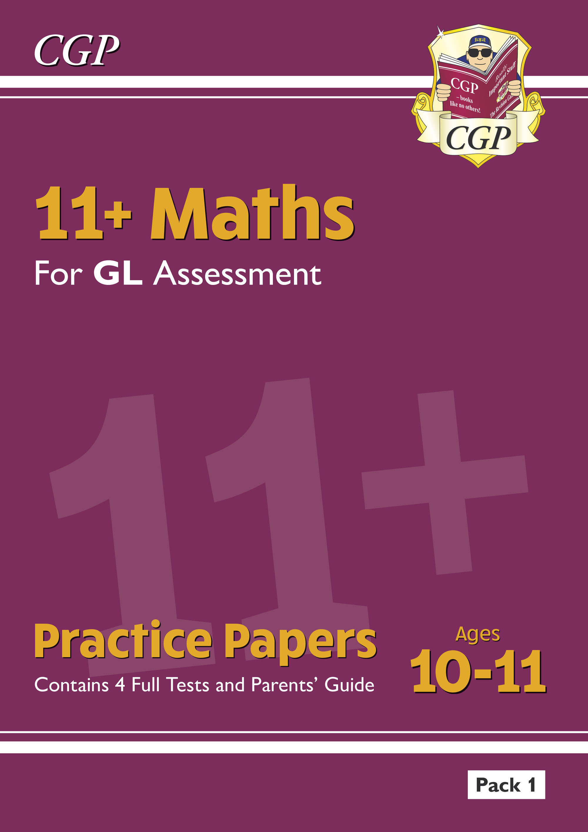 MHTE2DK - New 11+ GL Maths Practice Papers: Ages 10-11 - Pack 1 (with Parents' Guide)
