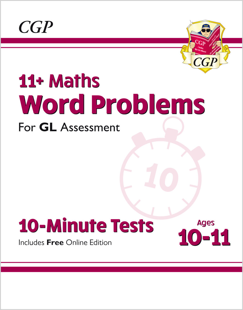 MWXPE2 - New 11+ GL 10-Minute Tests: Maths Word Problems - Ages 10-11 (with Online Edition)