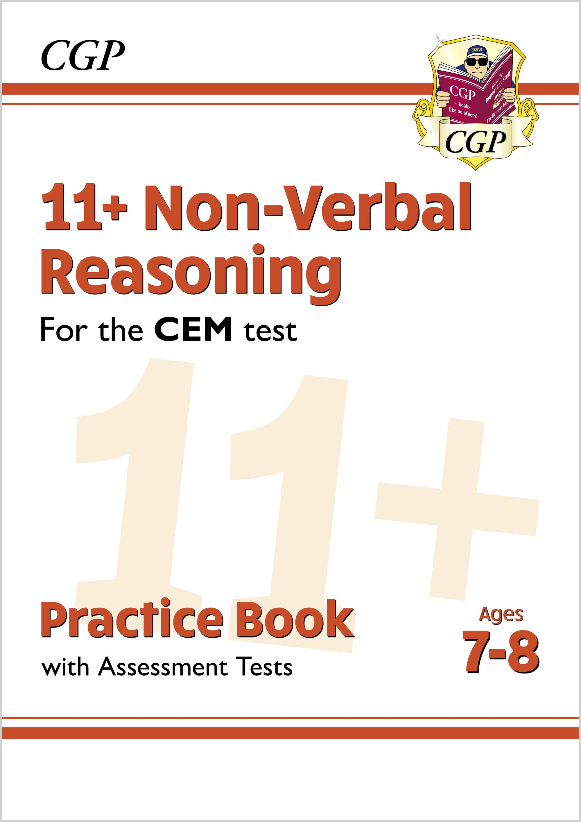 N3QDE2DK - New 11+ CEM Non-Verbal Reasoning Practice Book & Assessment Tests - Ages 7-8