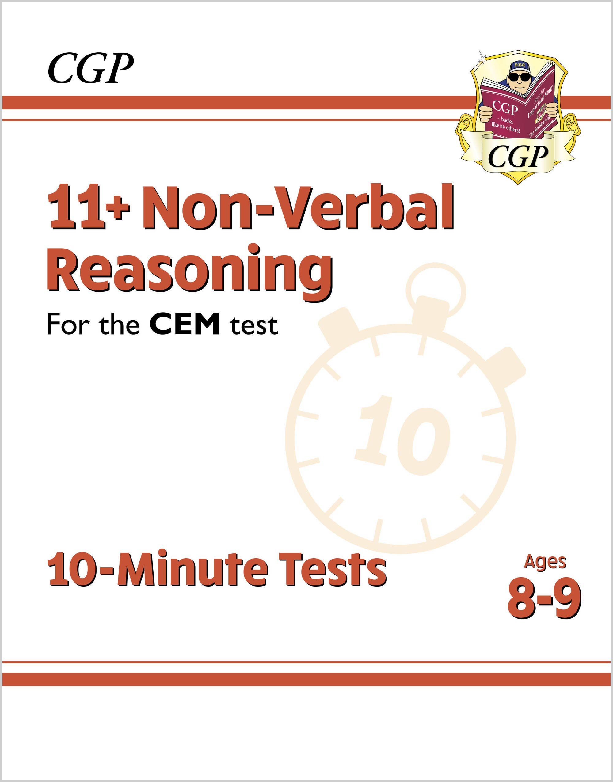 N4XPDE2DK - New 11+ CEM 10-Minute Tests: Non-Verbal Reasoning - Ages 8-9