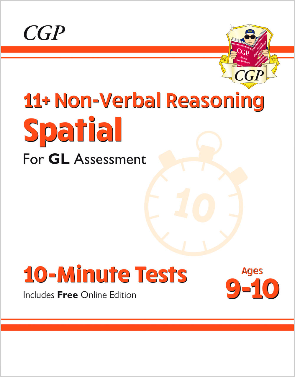 N5DXPE1 - New 11+ GL 10-Minute Tests: Non-Verbal Reasoning Spatial - Ages 9-10 (with Online Edition)