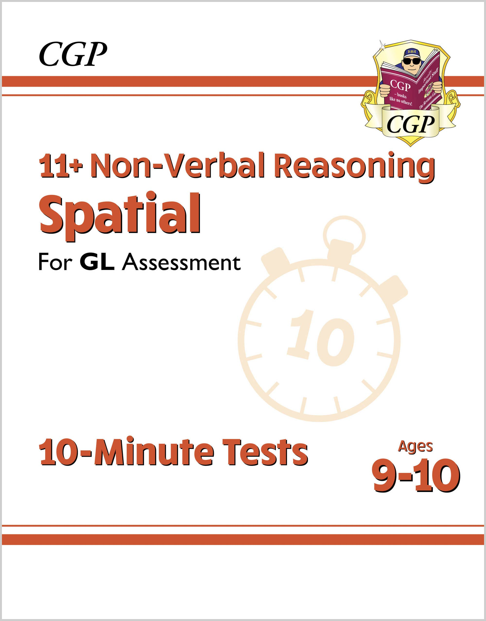 N5DXPE1DK - New 11+ GL 10-Minute Tests: Non-Verbal Reasoning Spatial - Ages 9-10 (with Online Editio