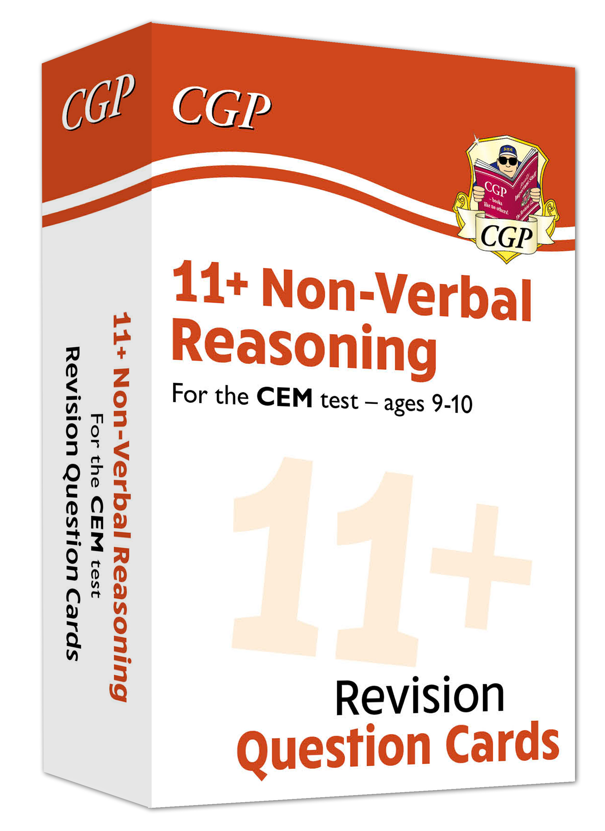 N5FDE1 - New 11+ CEM Revision Question Cards: Non-Verbal Reasoning - Ages 9-10