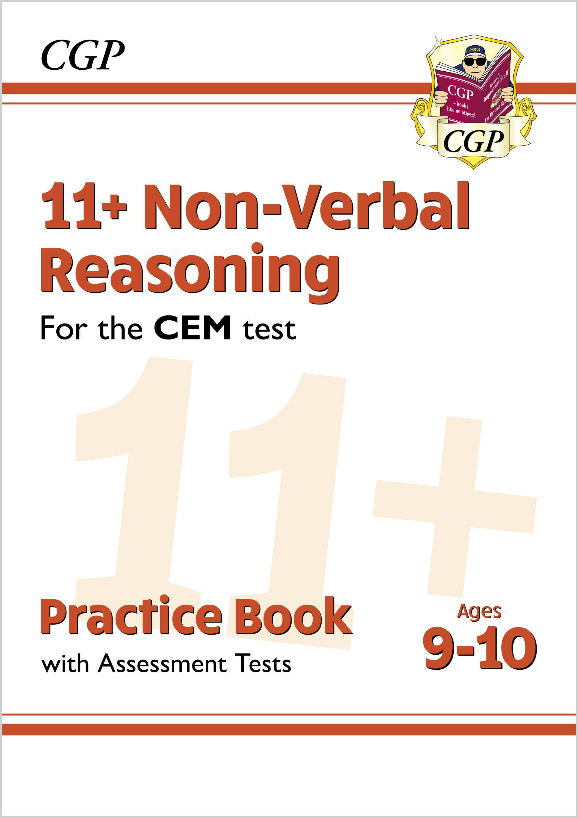 N5QDE2DK - New 11+ CEM Non-Verbal Reasoning Practice Book & Assessment Tests - Ages 9-10 (with Onlin
