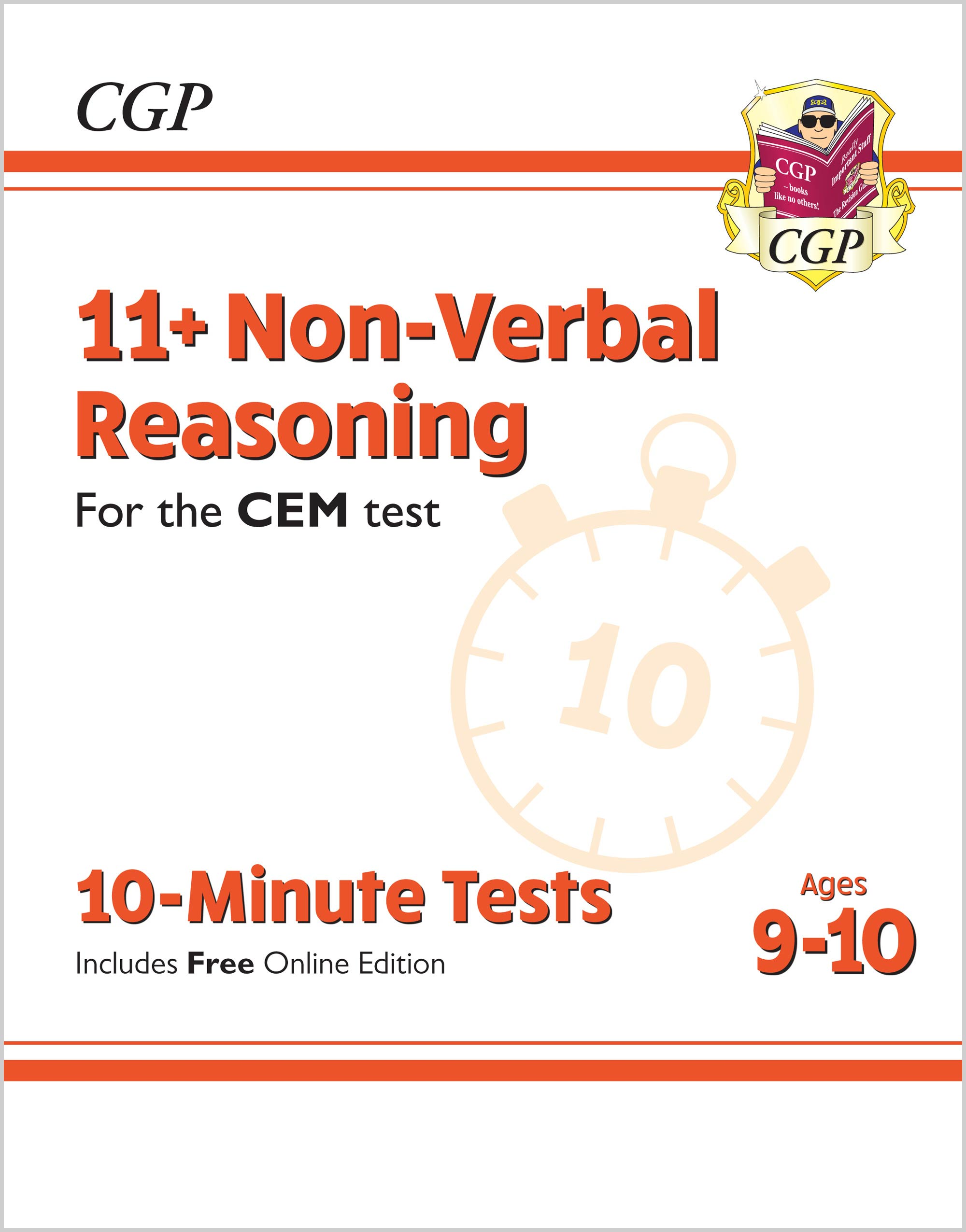 N5XPDE2 - New 11+ CEM 10-Minute Tests: Non-Verbal Reasoning - Ages 9-10 (with Online Edition)
