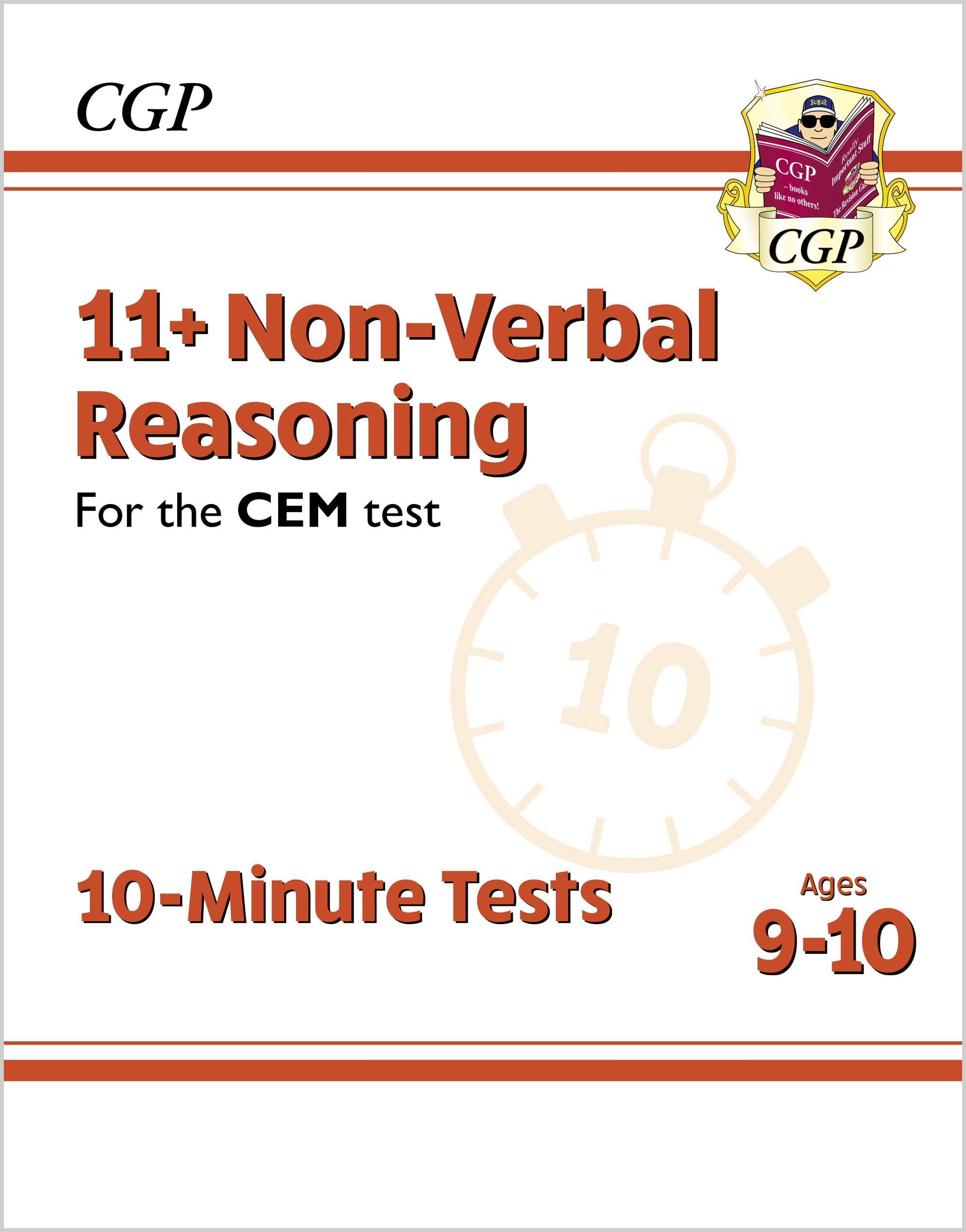 N5XPDE2DK - New 11+ CEM 10-Minute Tests: Non-Verbal Reasoning - Ages 9-10 (with Online Edition)