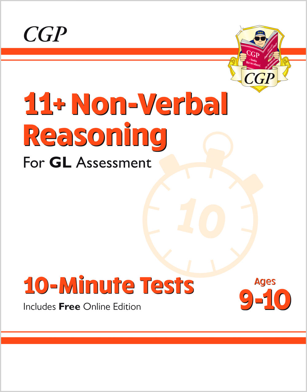 N5XPE1 - 11+ GL 10-Minute Tests: Non-Verbal Reasoning - Ages 9-10 (with Online Edition)