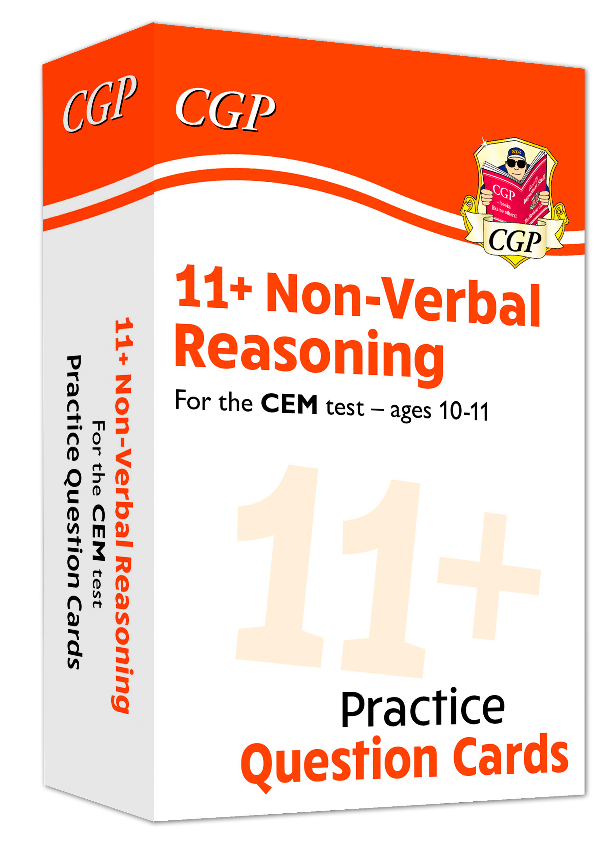 N6FDE1 - New 11+ CEM Non-Verbal Reasoning Practice Question Cards - Ages 10-11