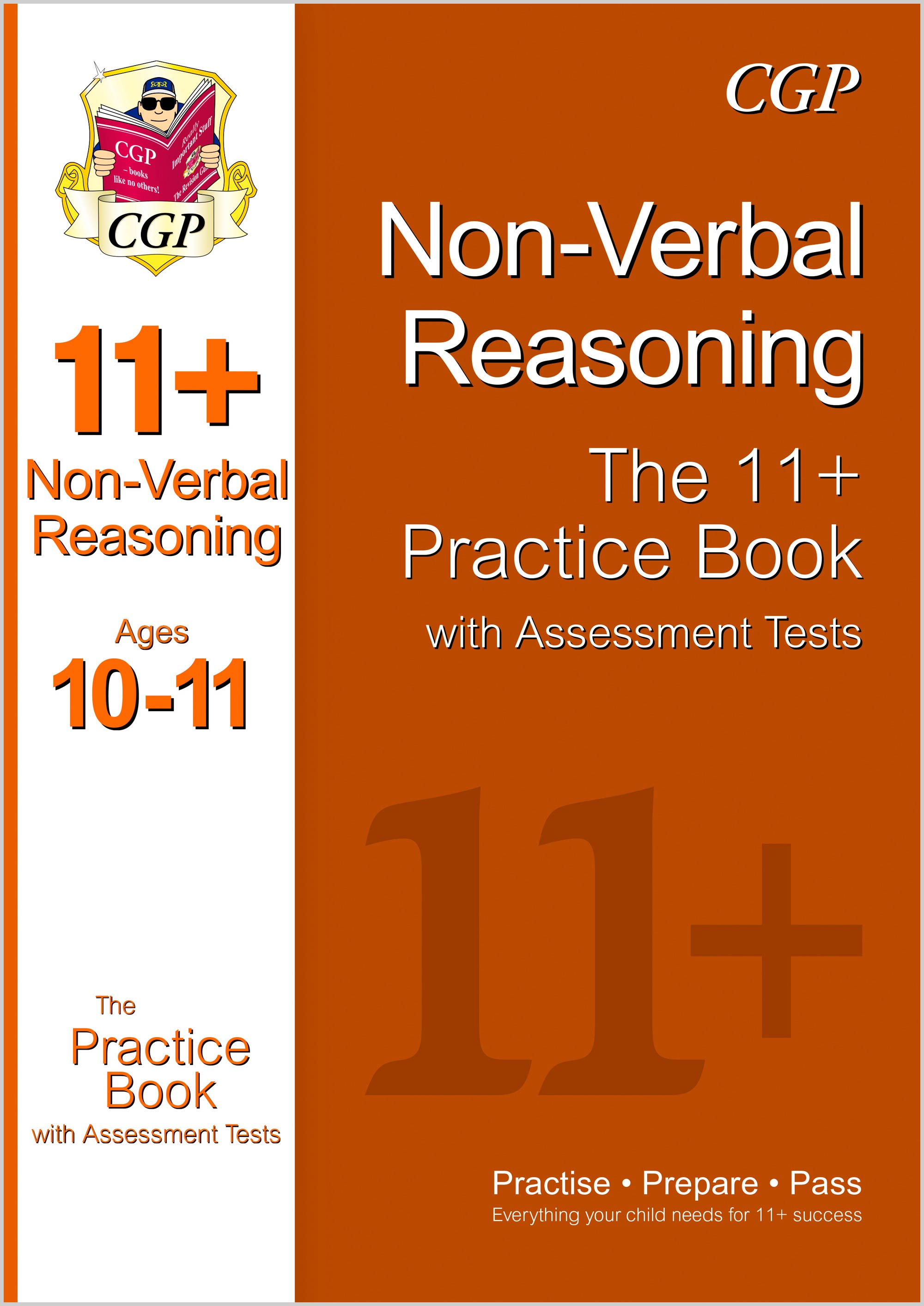 N6QE1DK - 11+ Non-Verbal Reasoning Practice Book with Assessment Tests Ages 10-11 (GL & Other Test P