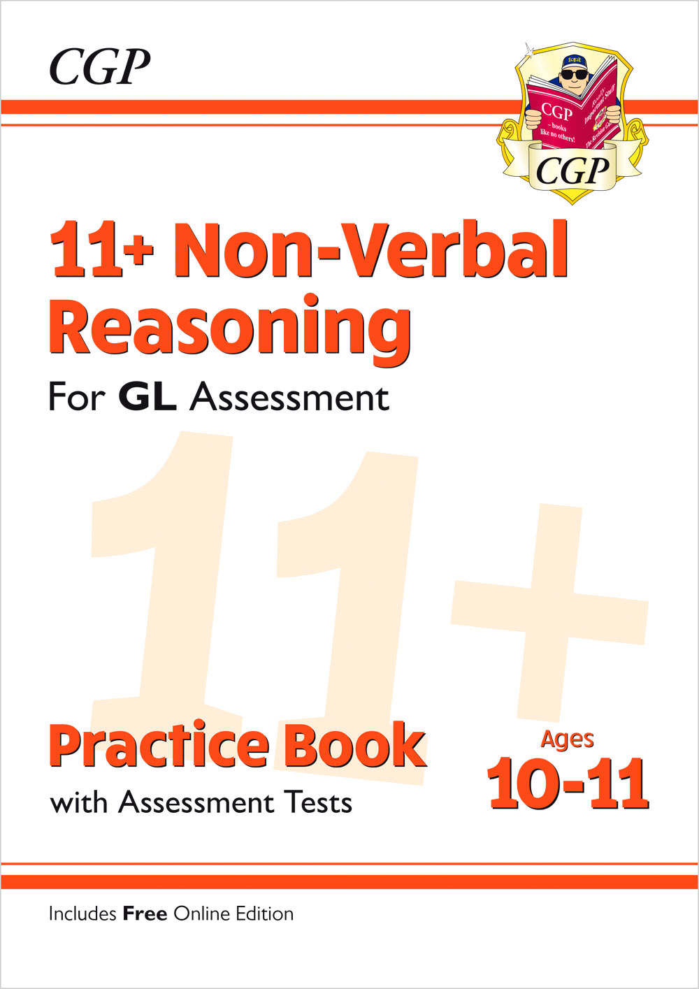 N6QE2 - New 11+ GL Non-Verbal Reasoning Practice Book & Assessment Tests - Ages 10-11 (with Online E