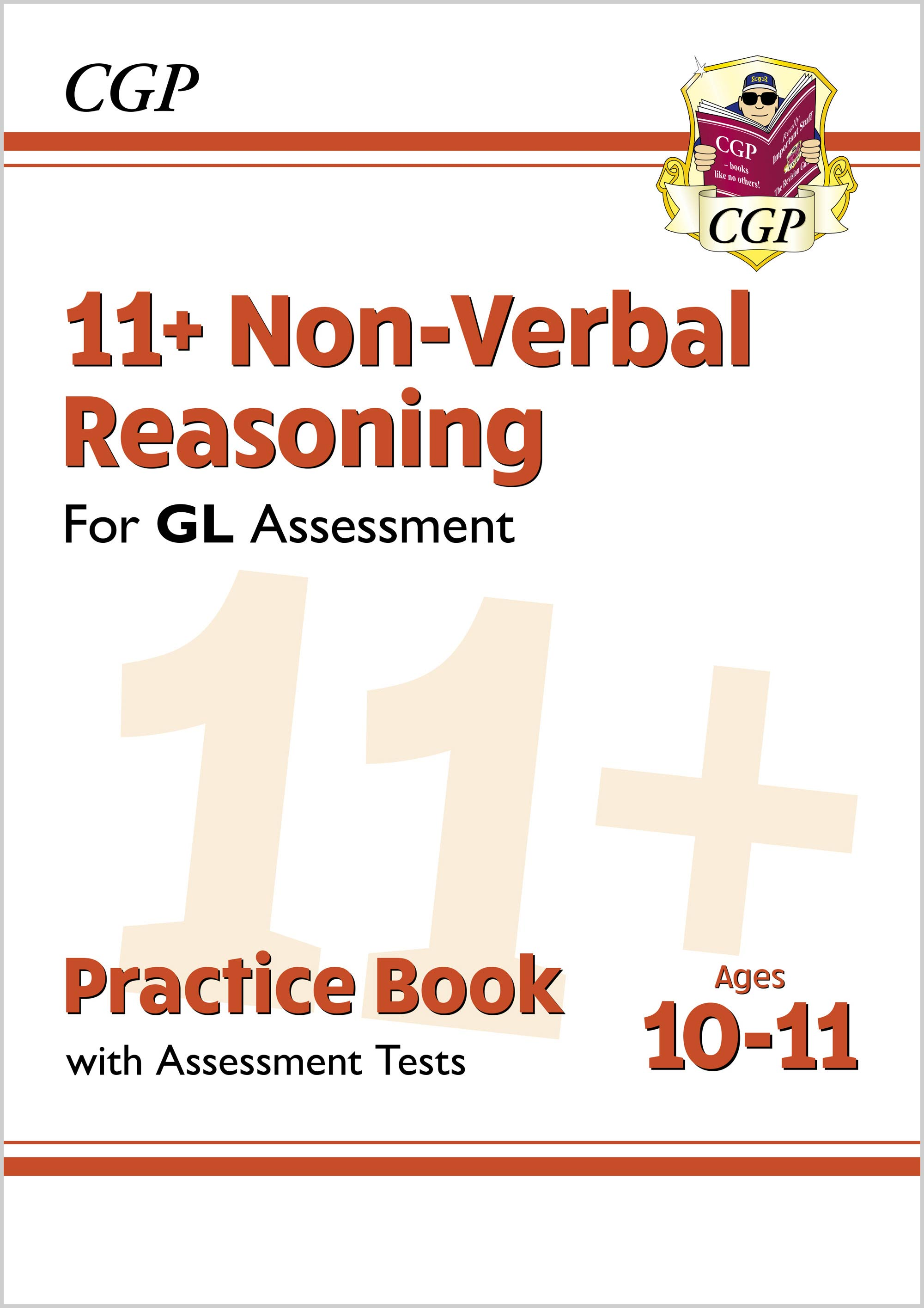 N6QE2DK - New 11+ GL Non-Verbal Reasoning Practice Book & Assessment Tests - Ages 10-11 (with Online