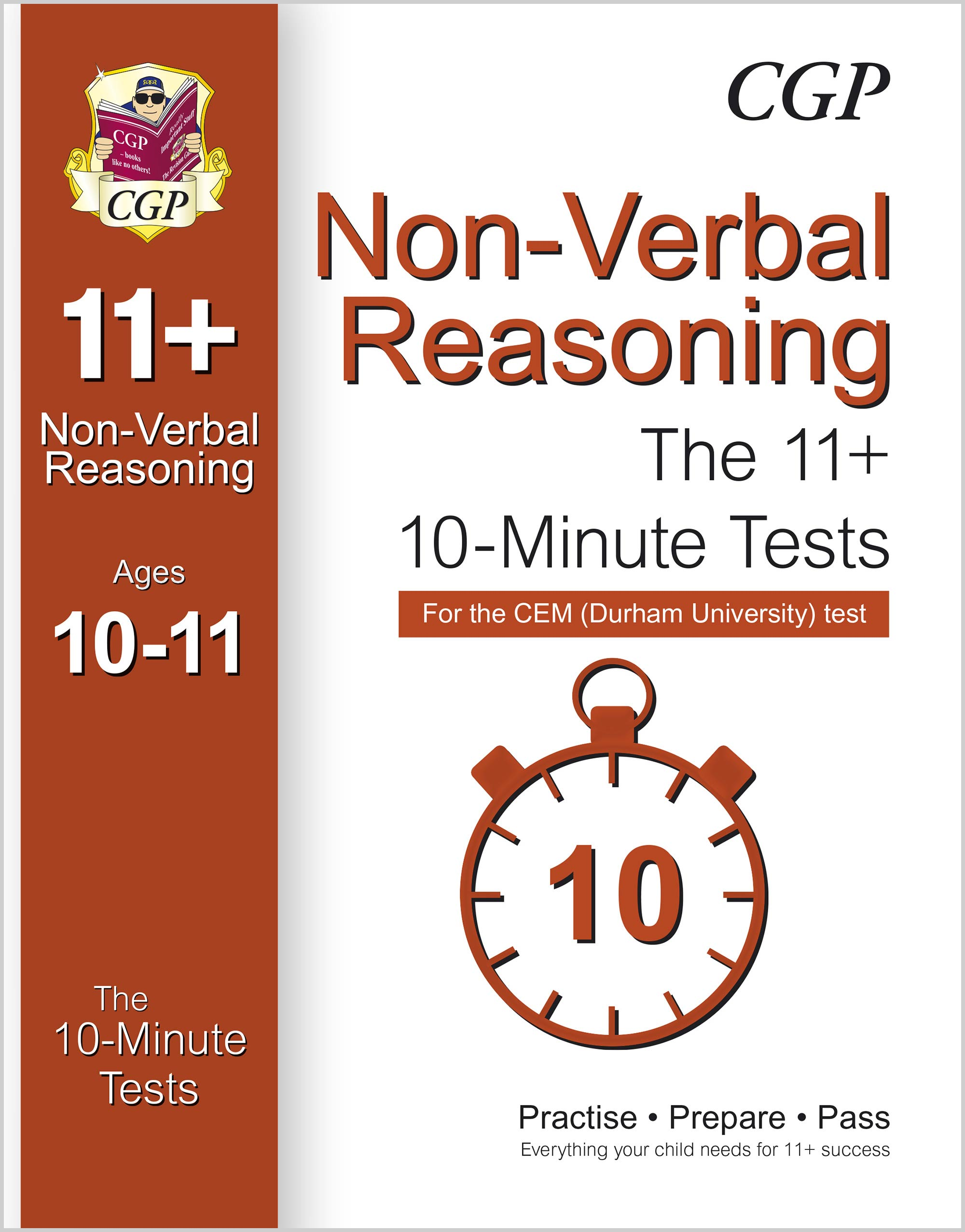 N6XPDE1 - 10-Minute Tests for 11+ Non-Verbal Reasoning Ages 10-11 (Book 1) - CEM Test