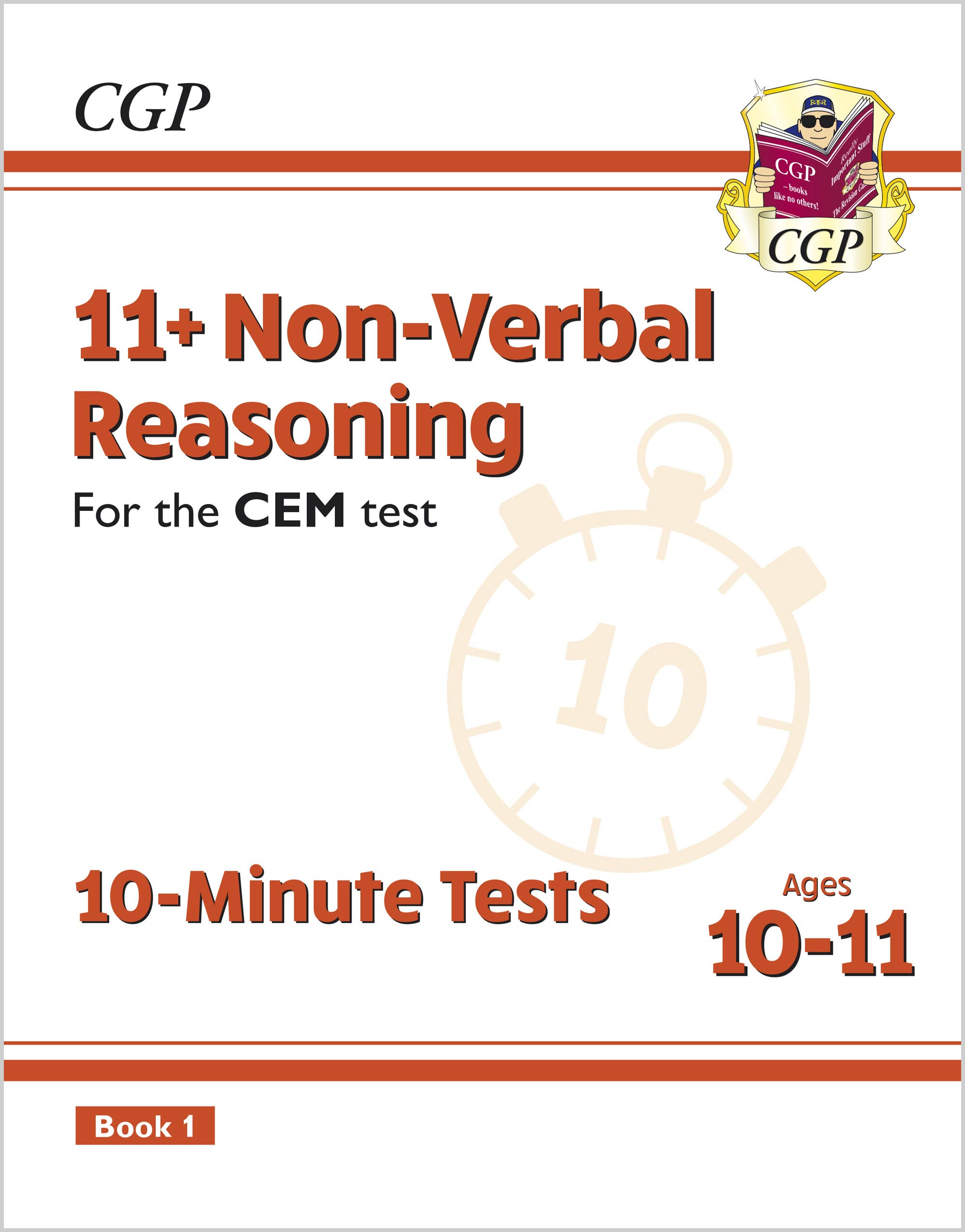 N6XPDE2DK - New 11+ CEM 10-Minute Tests: Non-Verbal Reasoning - Ages 10-11 Book 1 (with Online Editi