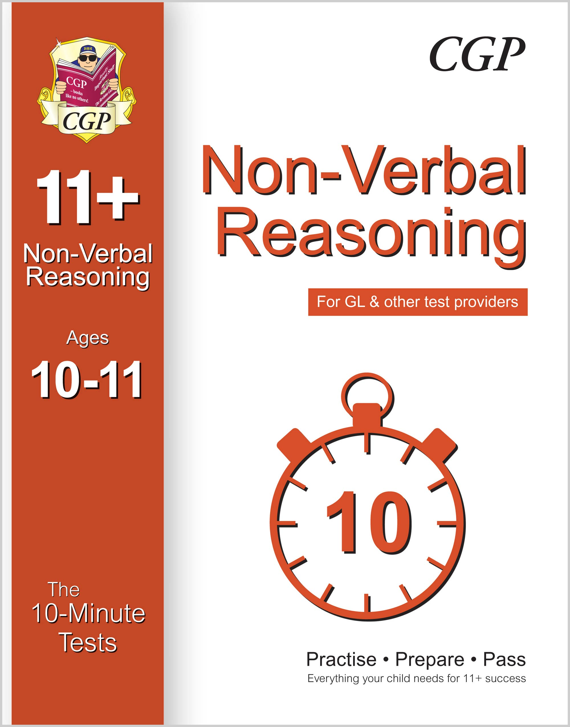 N6XPE1 - 10-Minute Tests for 11+ Non-Verbal Reasoning (Ages 10-11) (for GL & Other Test Providers)