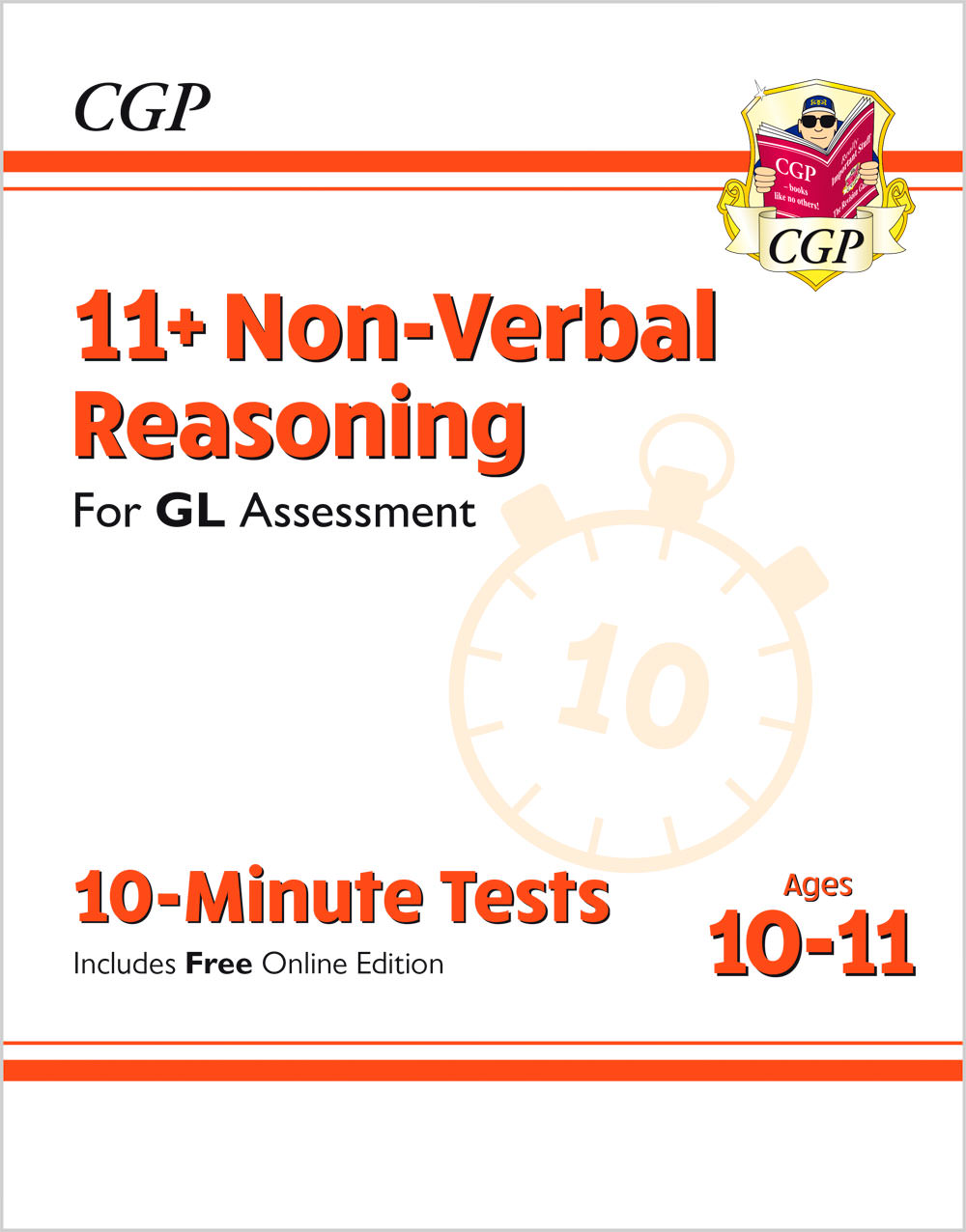 N6XPE2 - New 11+ GL 10-Minute Tests: Non-Verbal Reasoning - Ages 10-11 (with Online Edition)