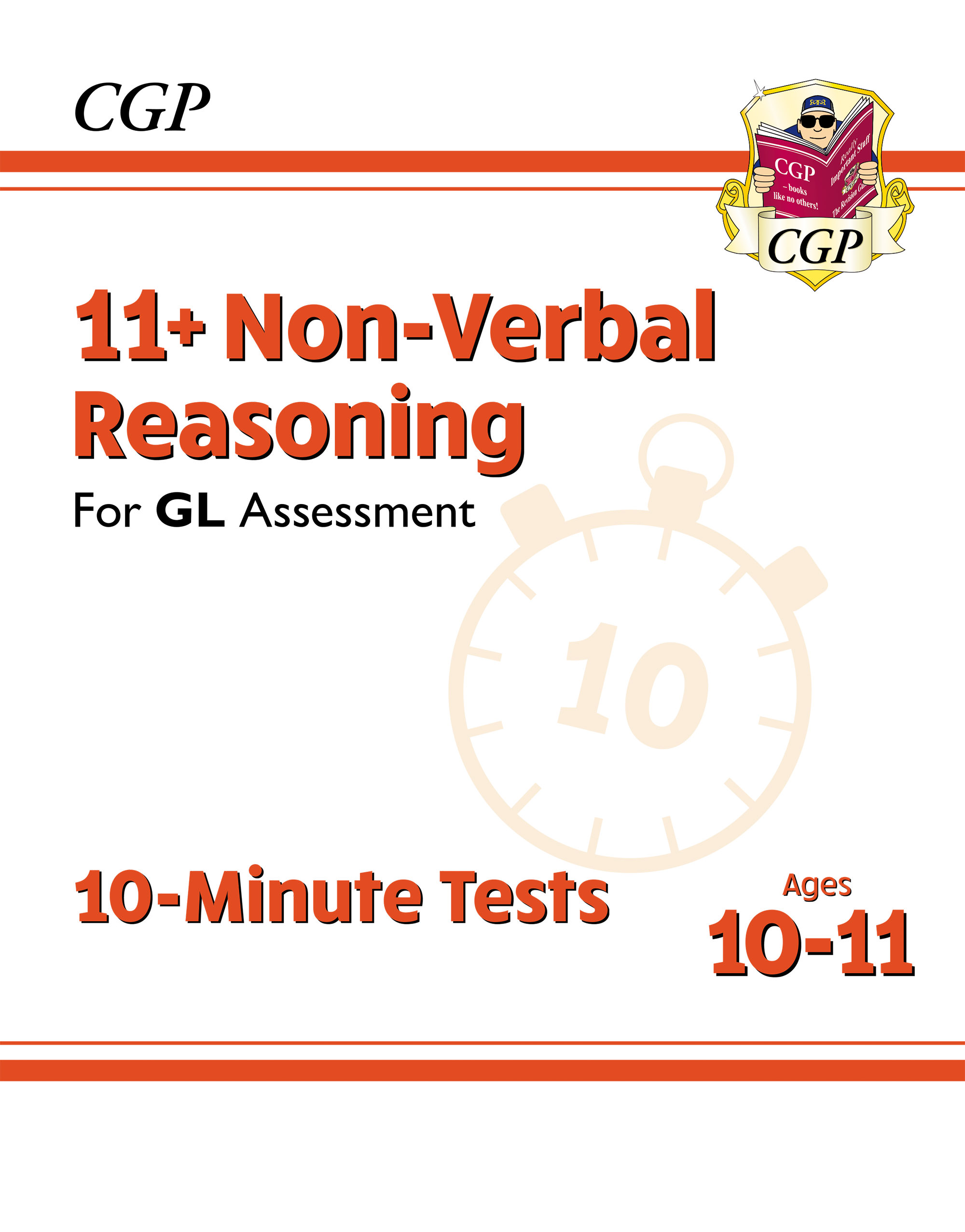 N6XPE2DK - New 11+ GL 10-Minute Tests: Non-Verbal Reasoning - Ages 10-11 (with Online Edition)