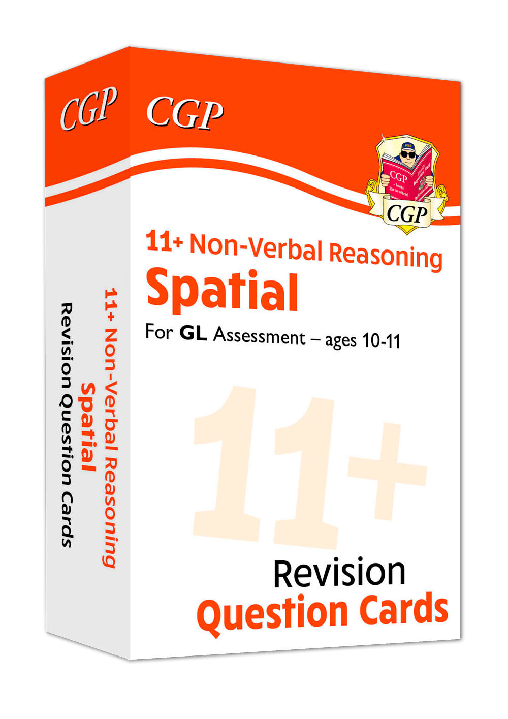 NDFE1 - New 11+ GL Revision Question Cards: Non-Verbal Reasoning Spatial - Ages 10-11