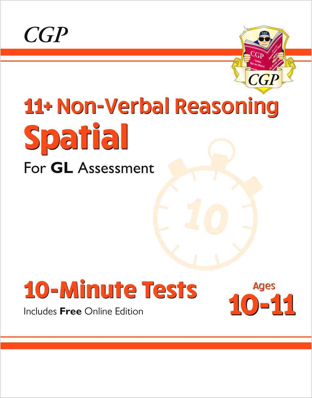 NDXPE2 - 11+ GL 10-Minute Tests: Non-Verbal Reasoning Spatial - Ages 10-11 (with Online Edition)
