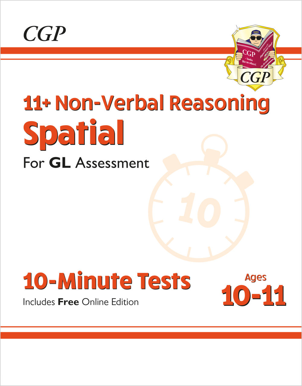NDXPE2 - New 11+ GL 10-Minute Tests: Non-Verbal Reasoning Spatial - Ages 10-11 (with Online Edition)