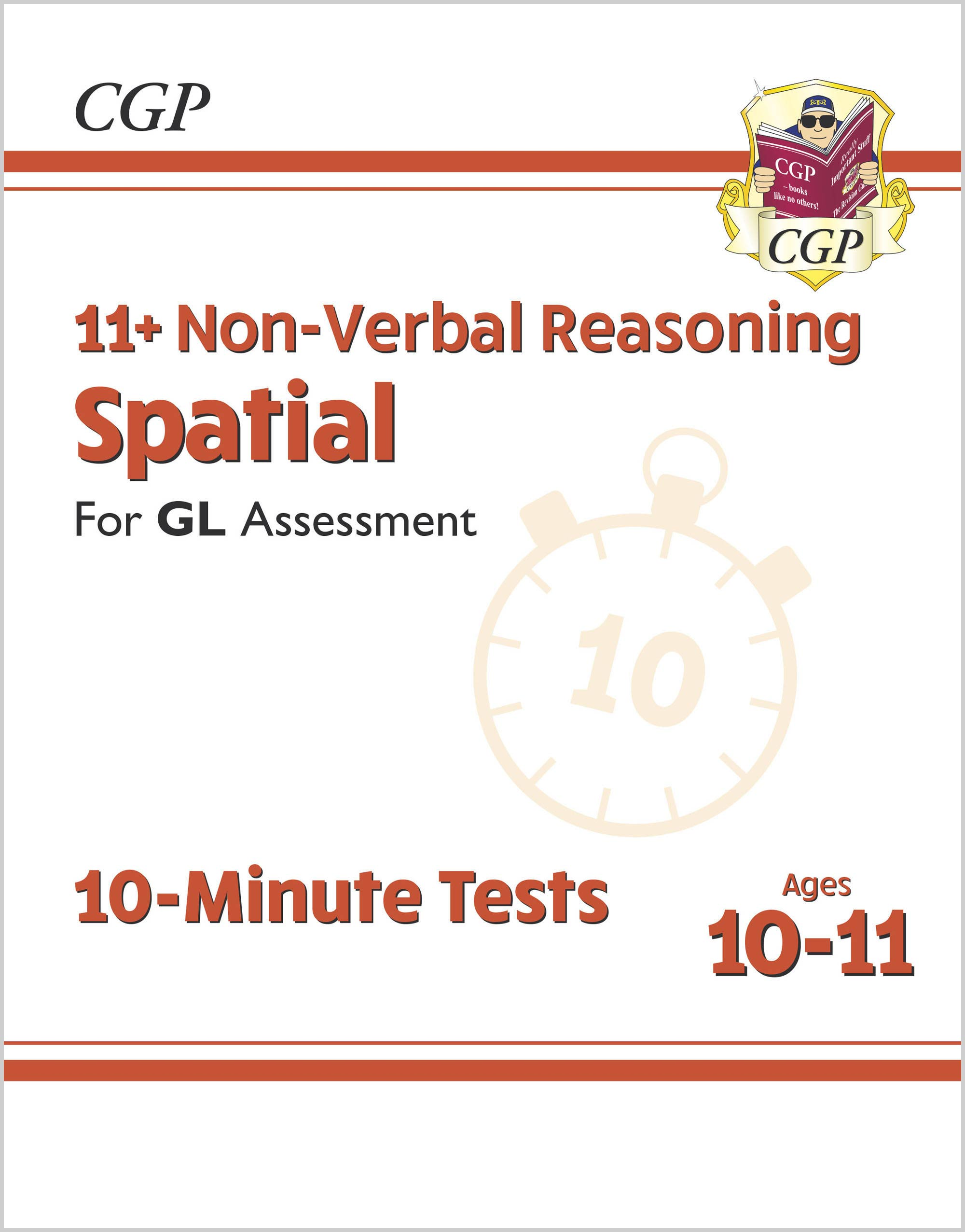 NDXPE2DK - New 11+ GL 10-Minute Tests: Non-Verbal Reasoning Spatial - Ages 10-11