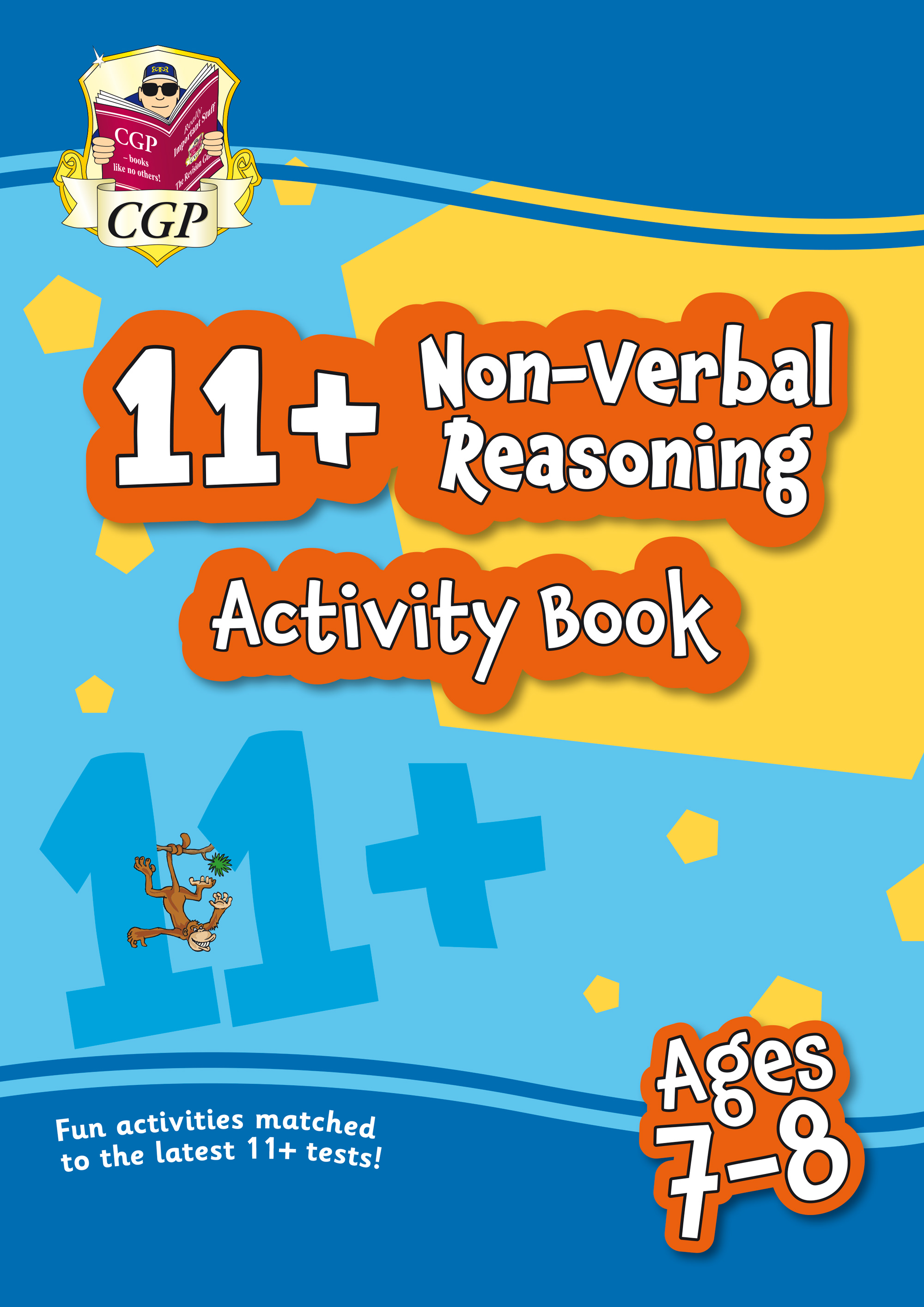 NF3QE1 - New 11+ Activity Book: Non-Verbal Reasoning - Ages 7-8