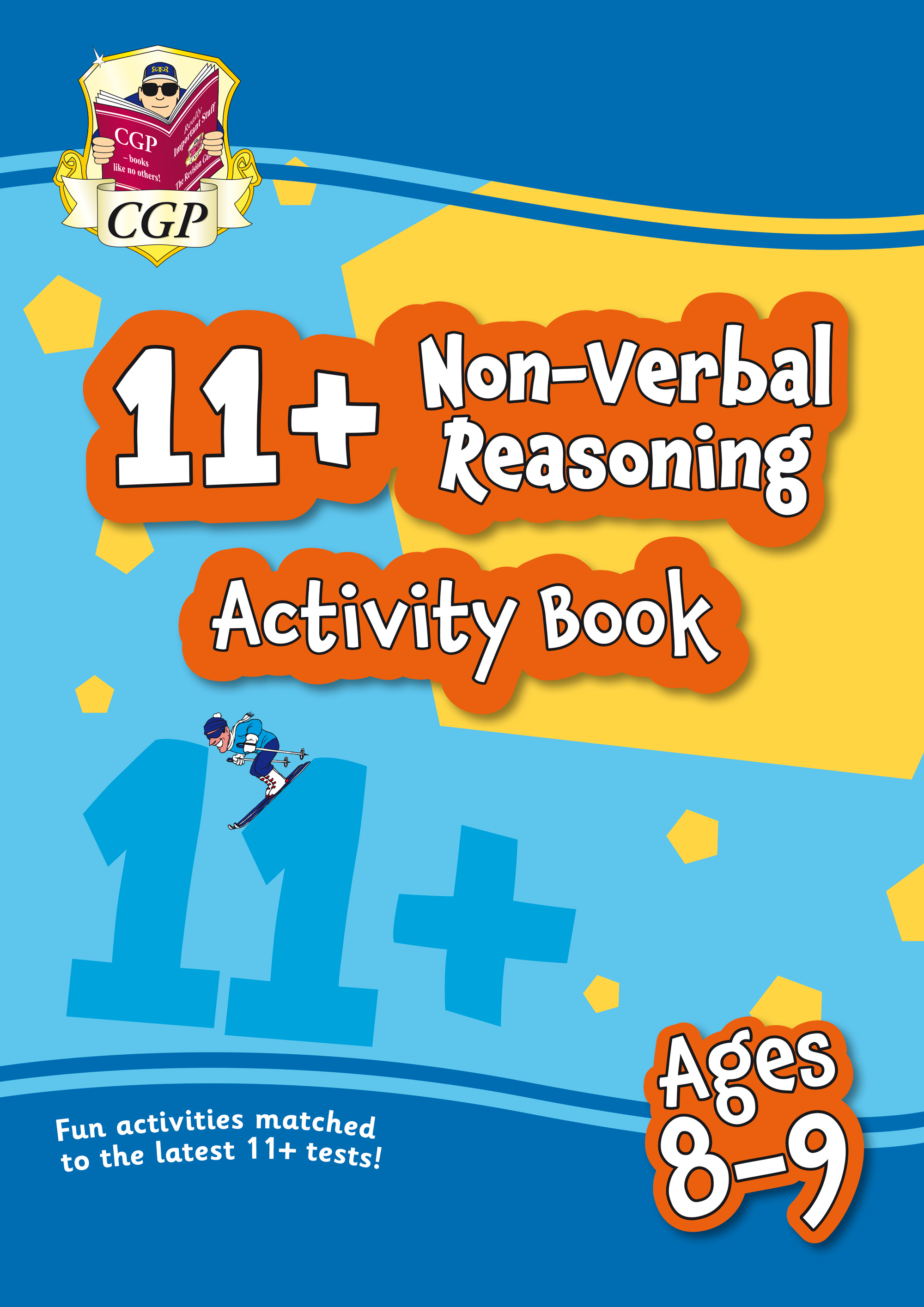 NF4QE1 - New 11+ Activity Book: Non-Verbal Reasoning - Ages 8-9