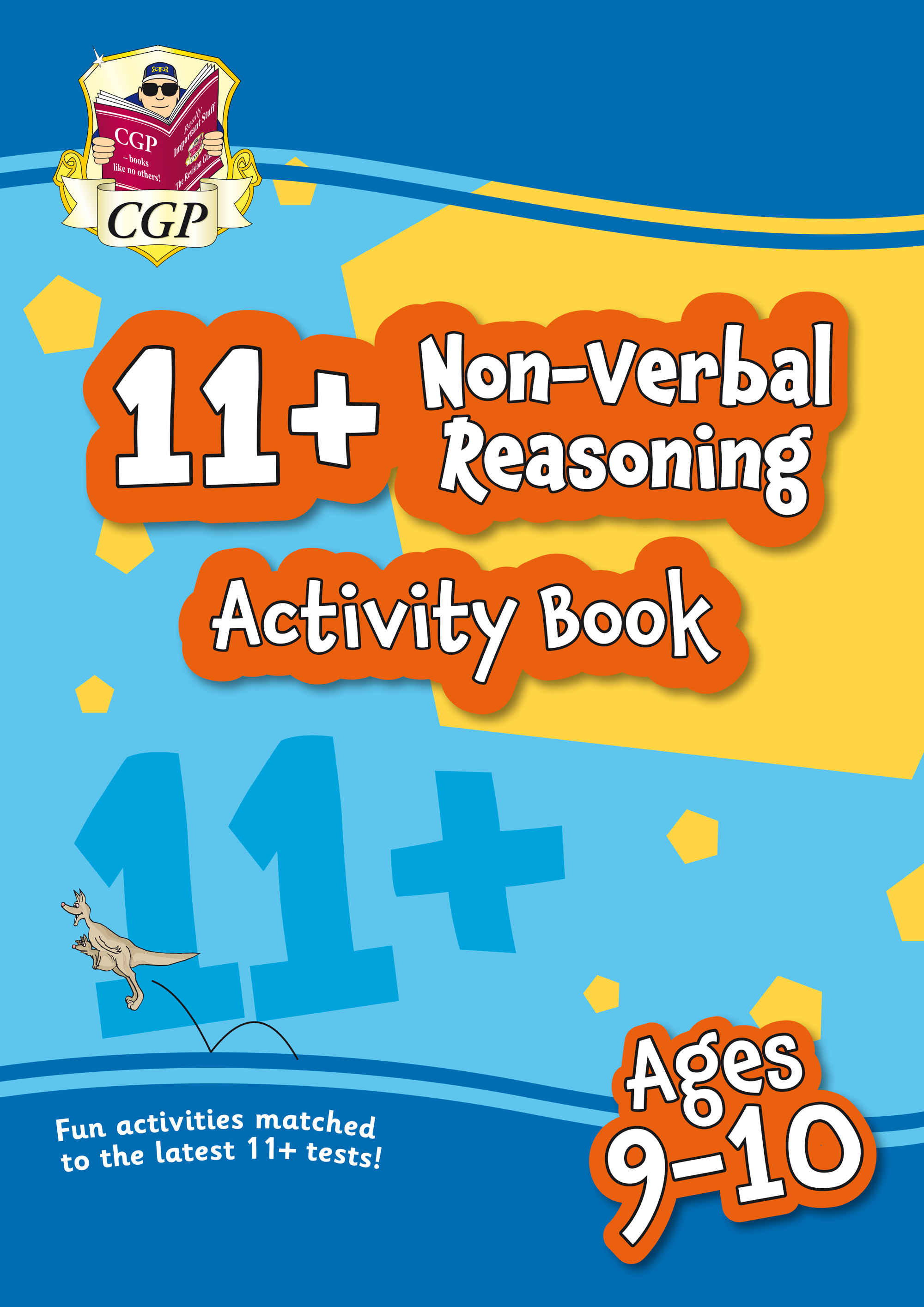 NF5QE1 - New 11+ Activity Book: Non-Verbal Reasoning - Ages 9-10