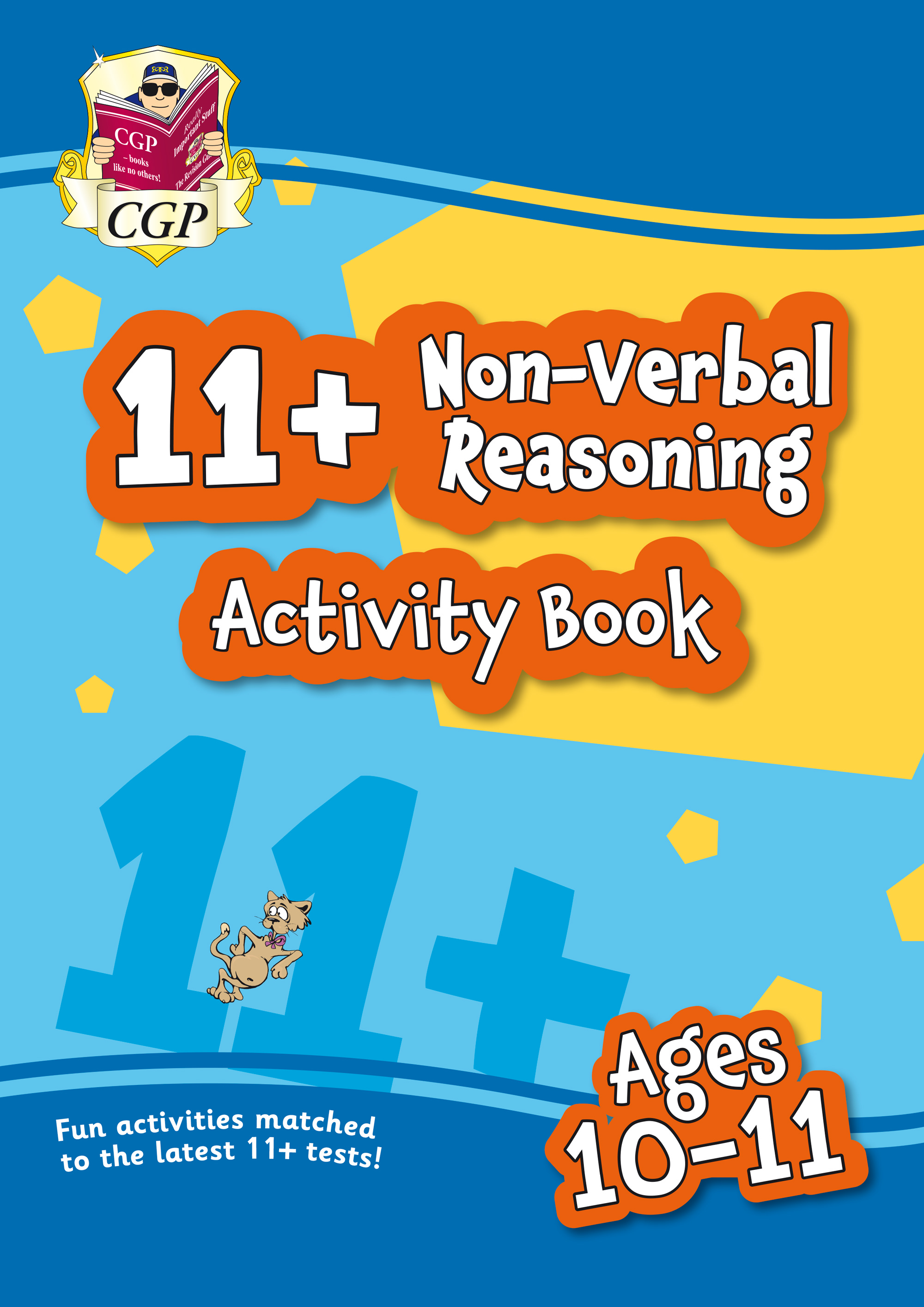 NF6QE1 - New 11+ Activity Book: Non-Verbal Reasoning - Ages 10-11