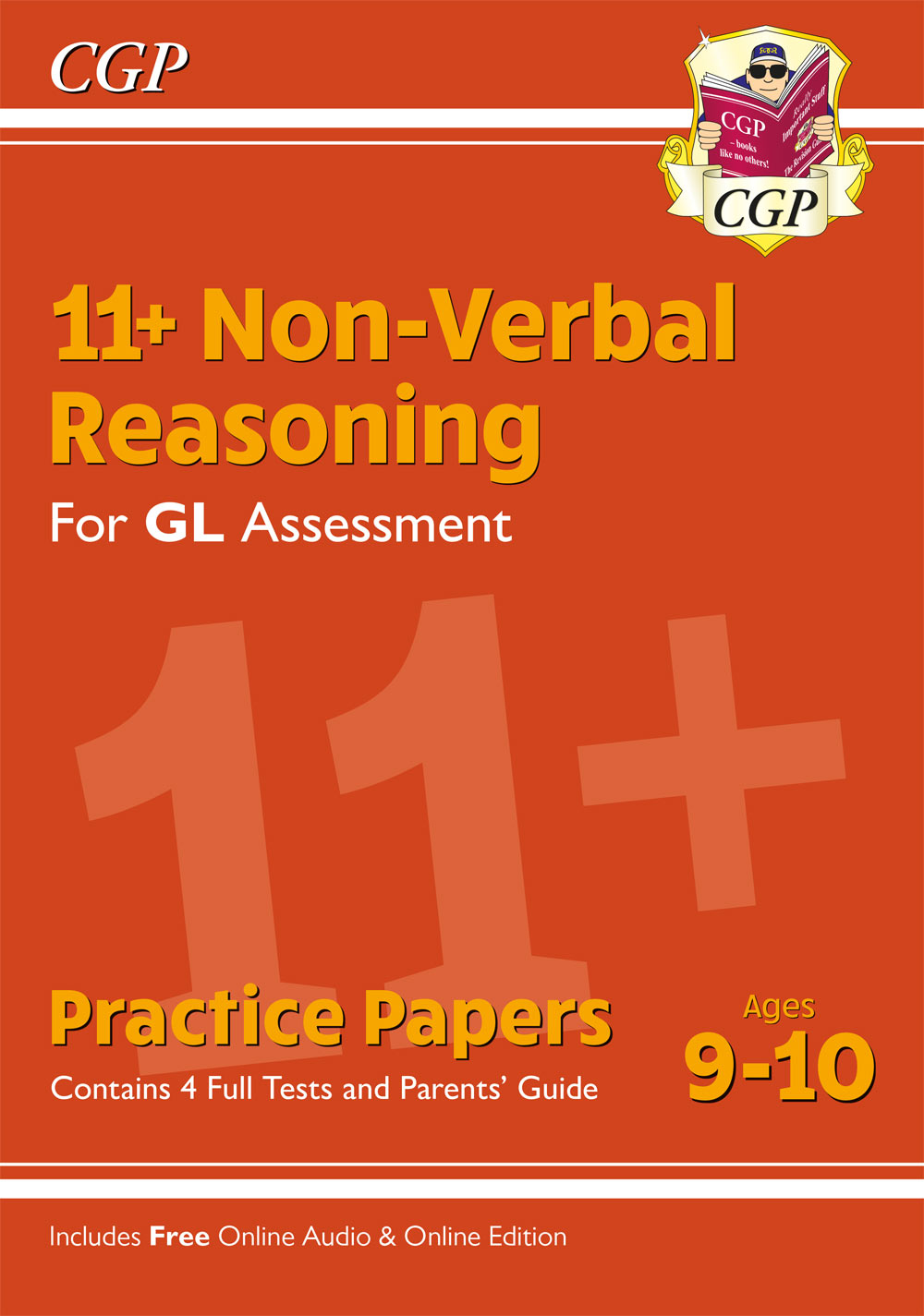 NH5PE1 - 11+ GL Non-Verbal Reasoning Practice Papers - Ages 9-10 (with Parents' Guide & Online Editi